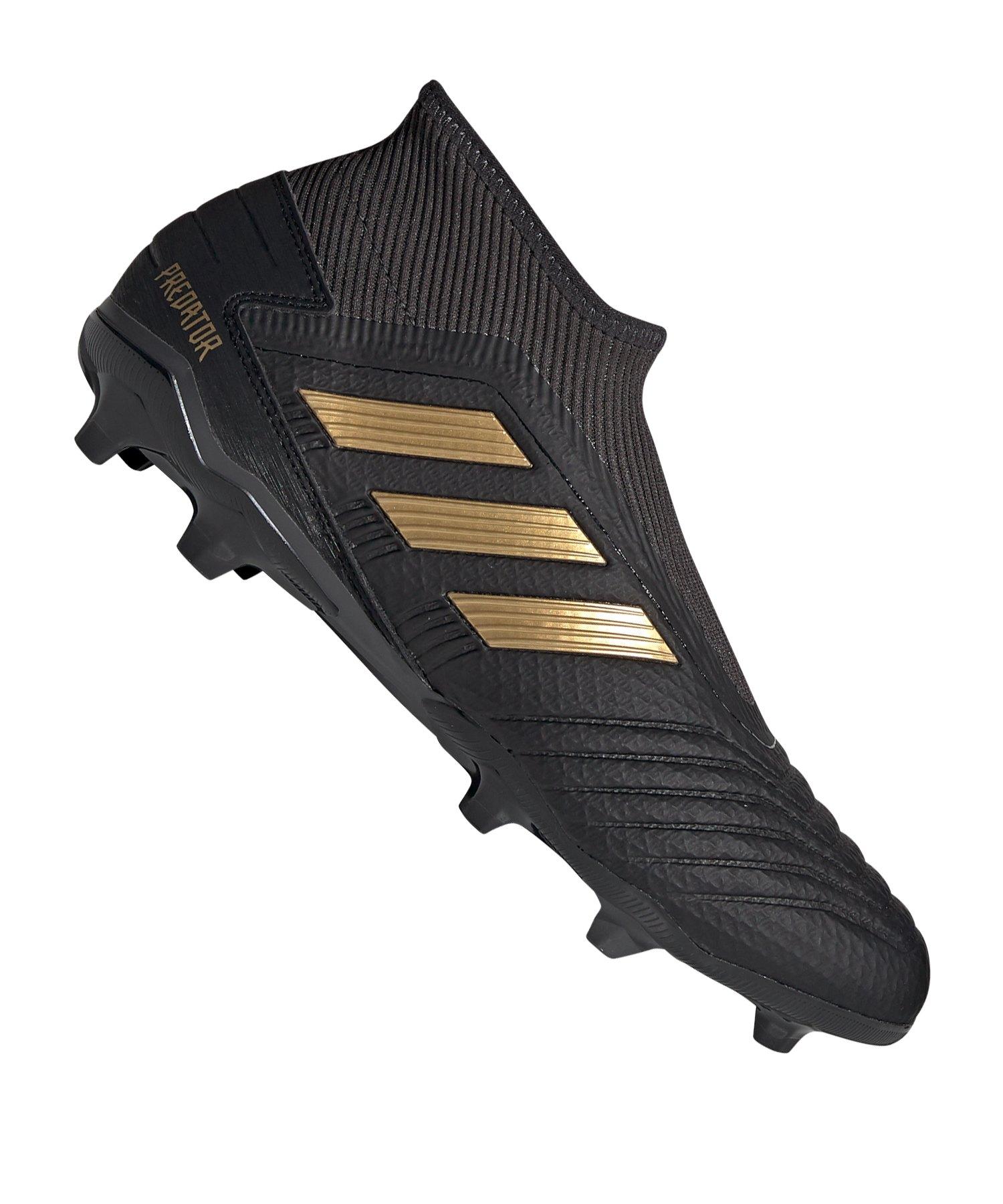 adidas Predator 19.3 LL FG Schwarz Gold - Schwarz