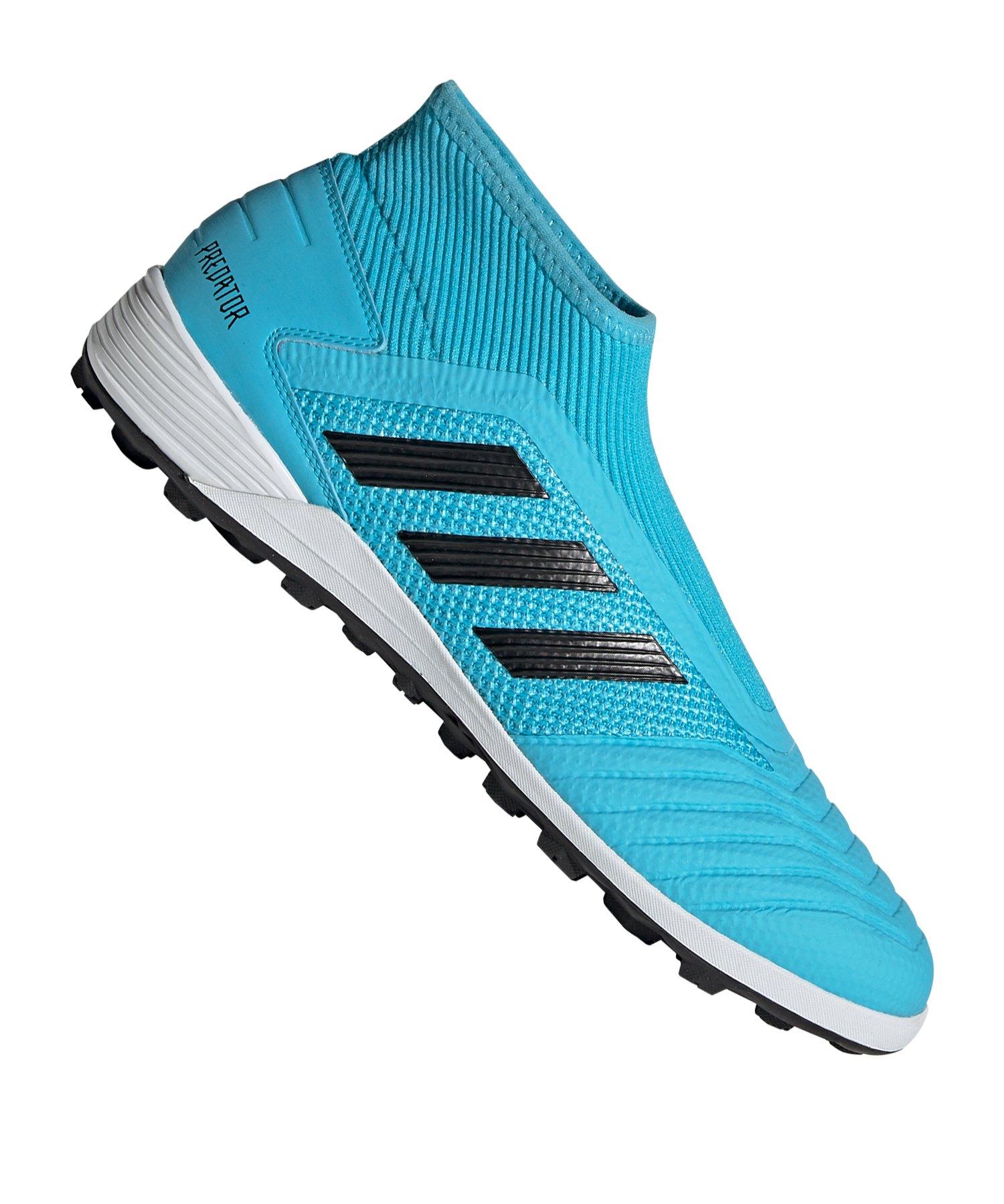 adidas Predator 19.3 LL TF Blau Schwarz - blau