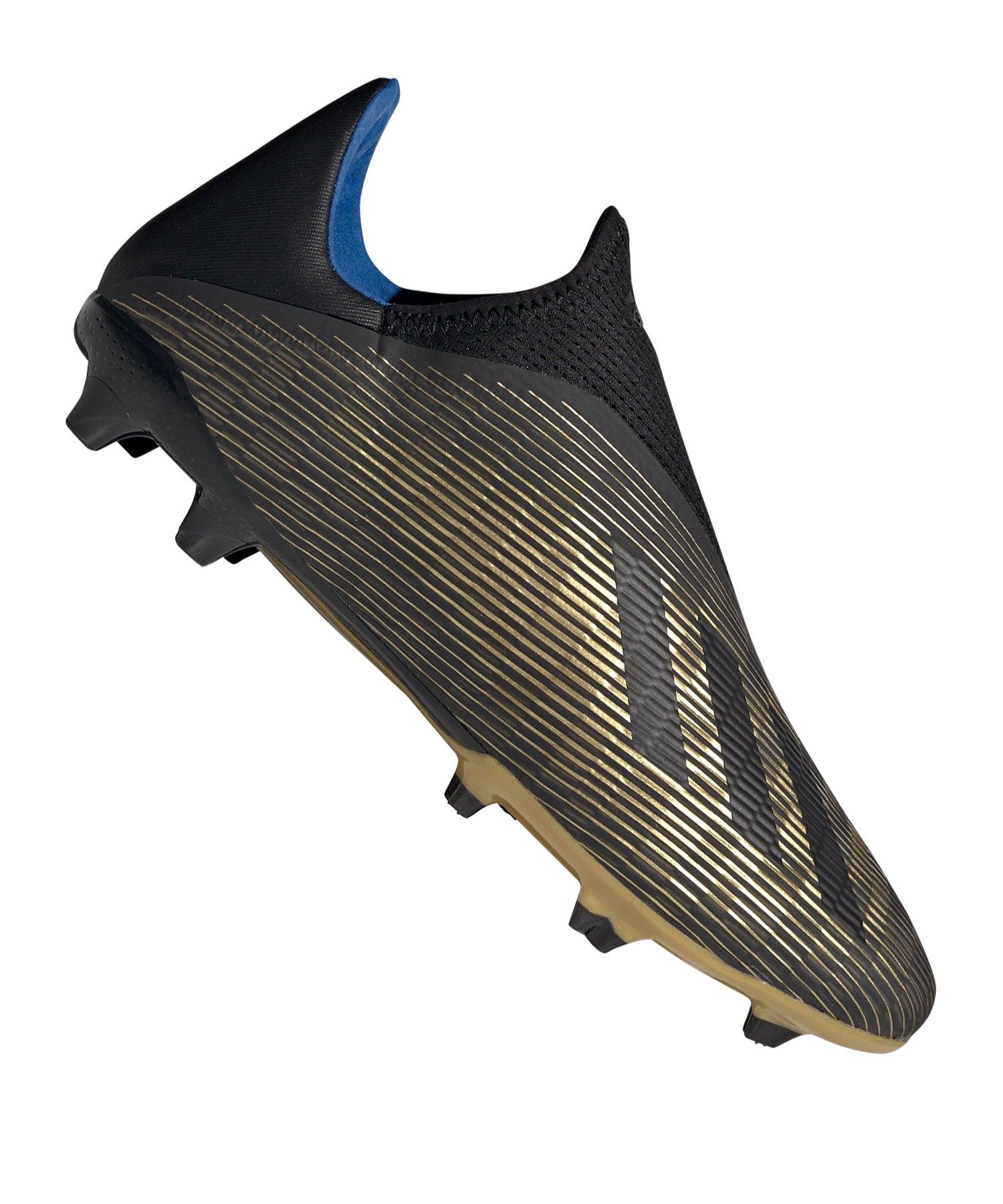 adidas X 19.3 LL FG Schwarz Gold - schwarz