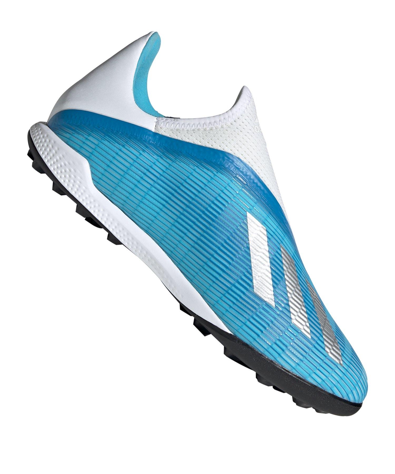 adidas X 19.3 LL TF Türkis - blau