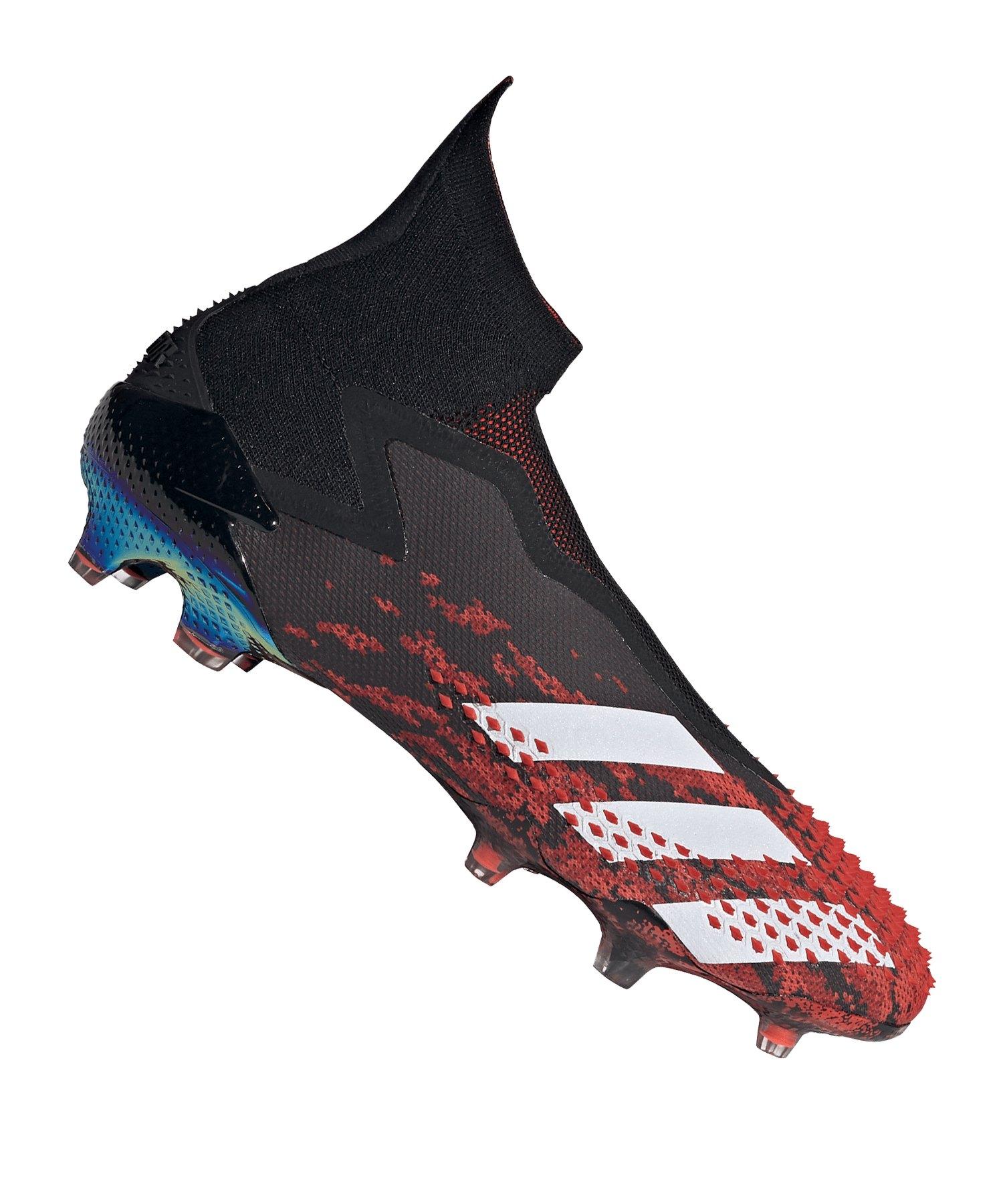 adidas Predator 20+ FG Schwarz Rot - schwarz
