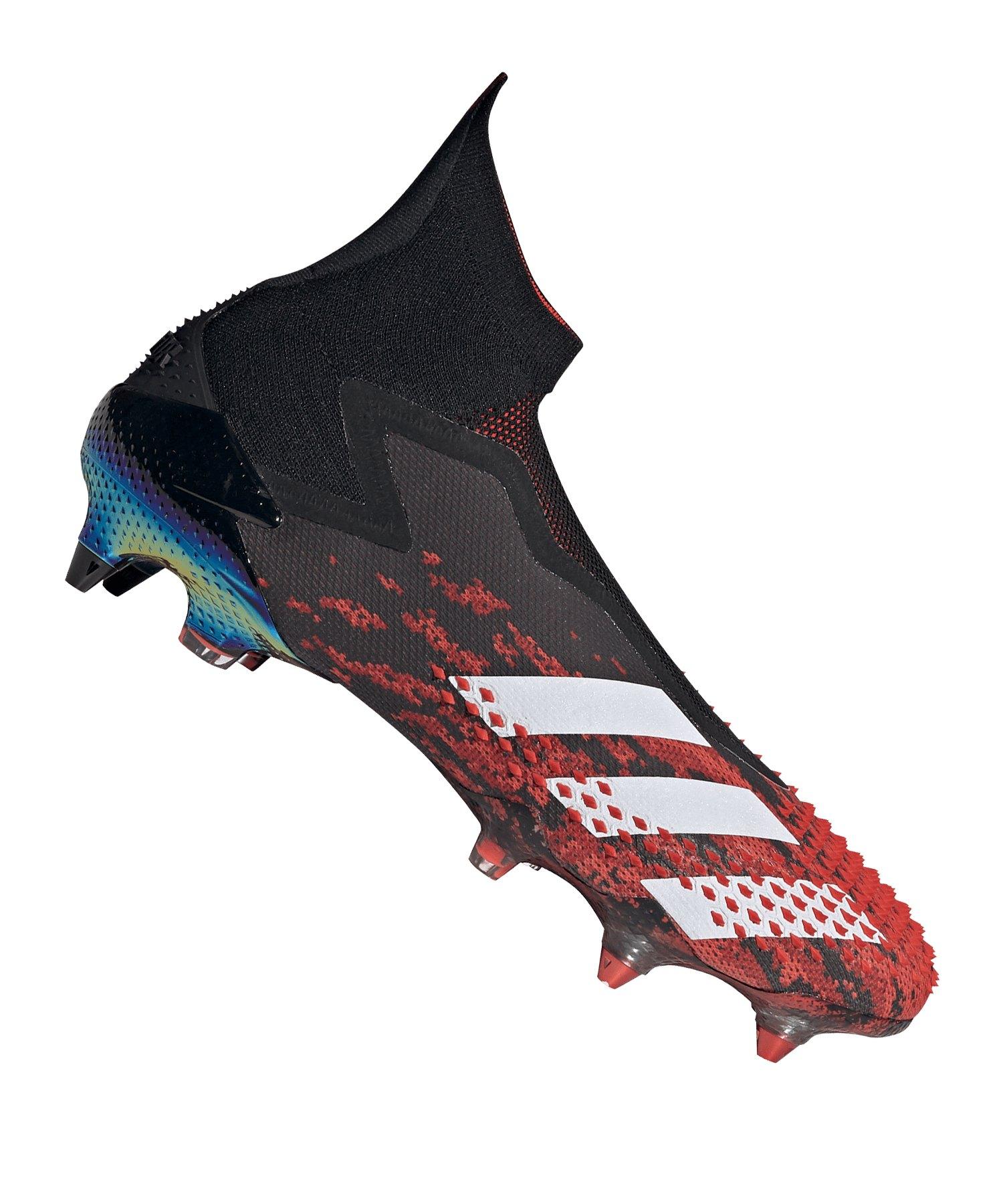 adidas Predator 20+ SG Schwarz Rot - schwarz