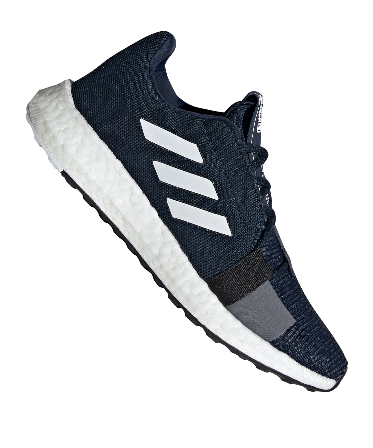 adidas Sense Boost Go Running Damen Blau Weiss - blau