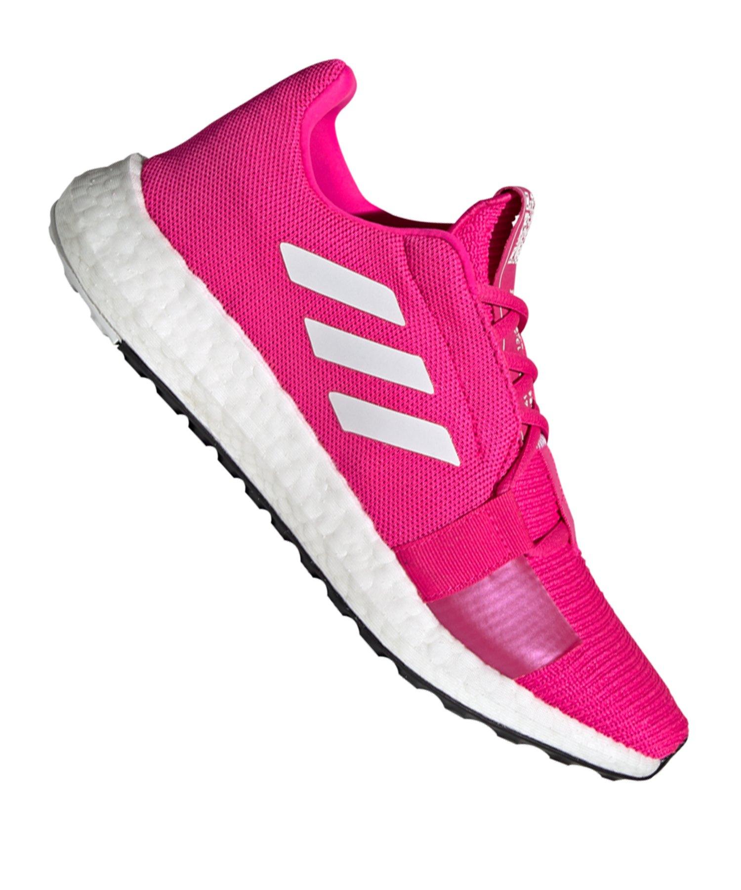 adidas Sense Boost Go Running Damen Pink Weiss - pink
