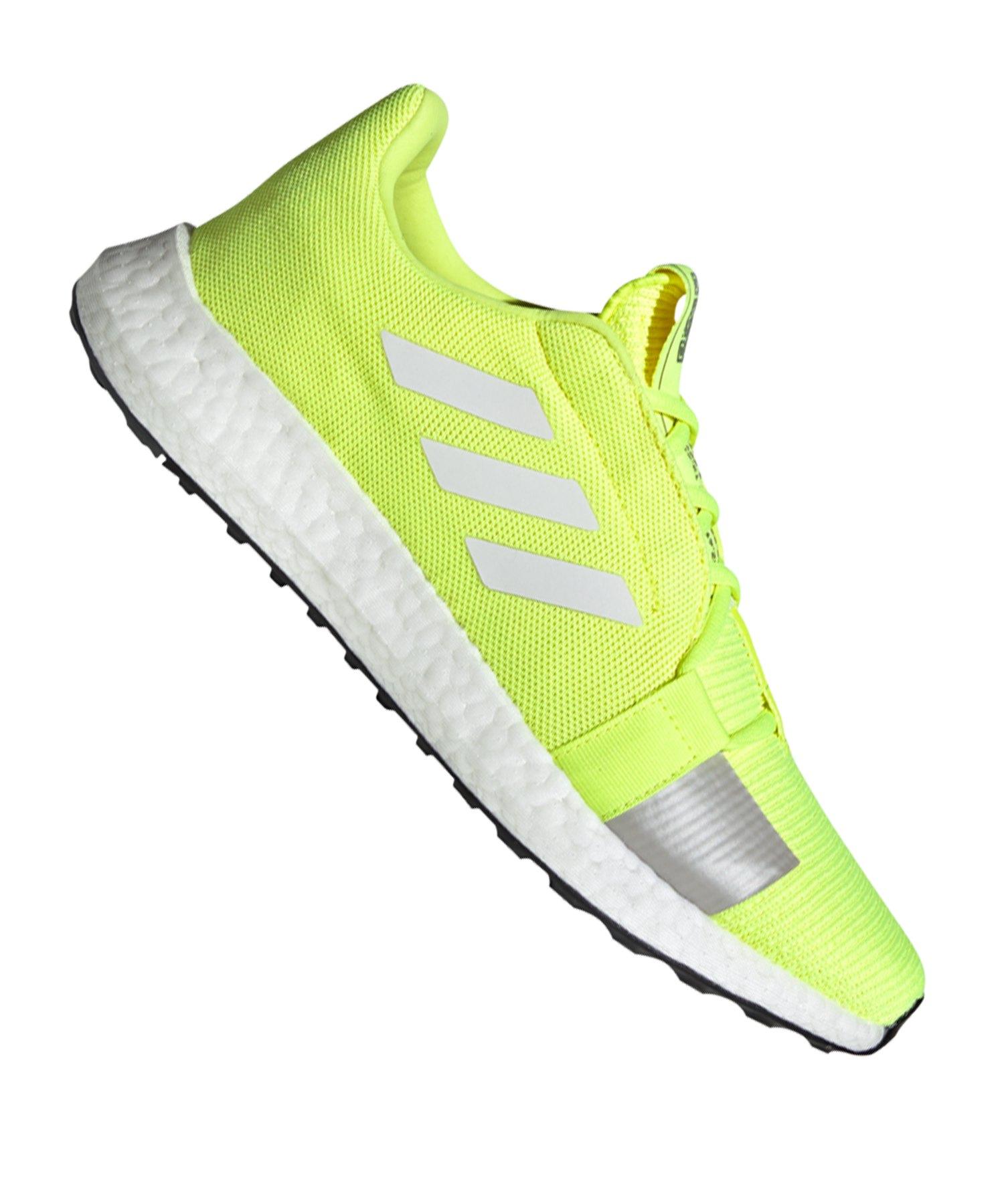 adidas Sense Boost Go Running Gelb Weiss - gelb