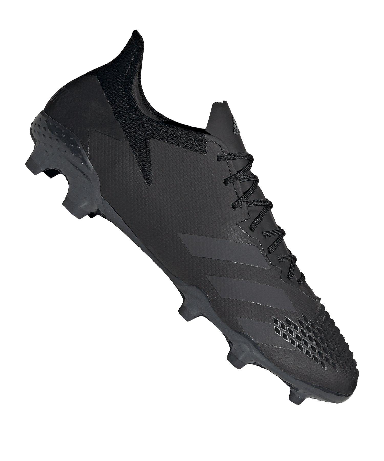 adidas Predator 20.2 FG Schwarz Grau - schwarz