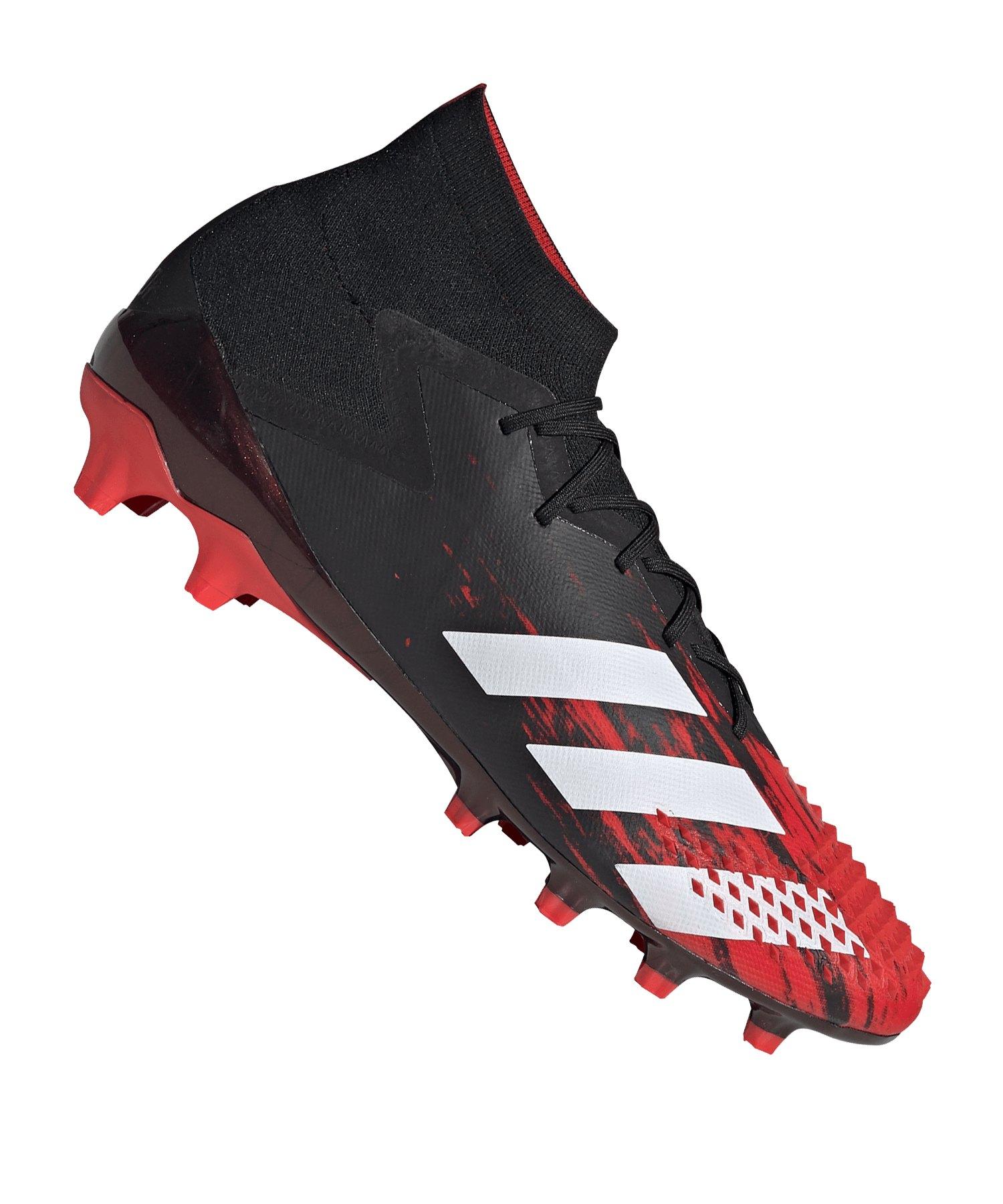 adidas Predator 20.1 AG Schwarz Rot - schwarz