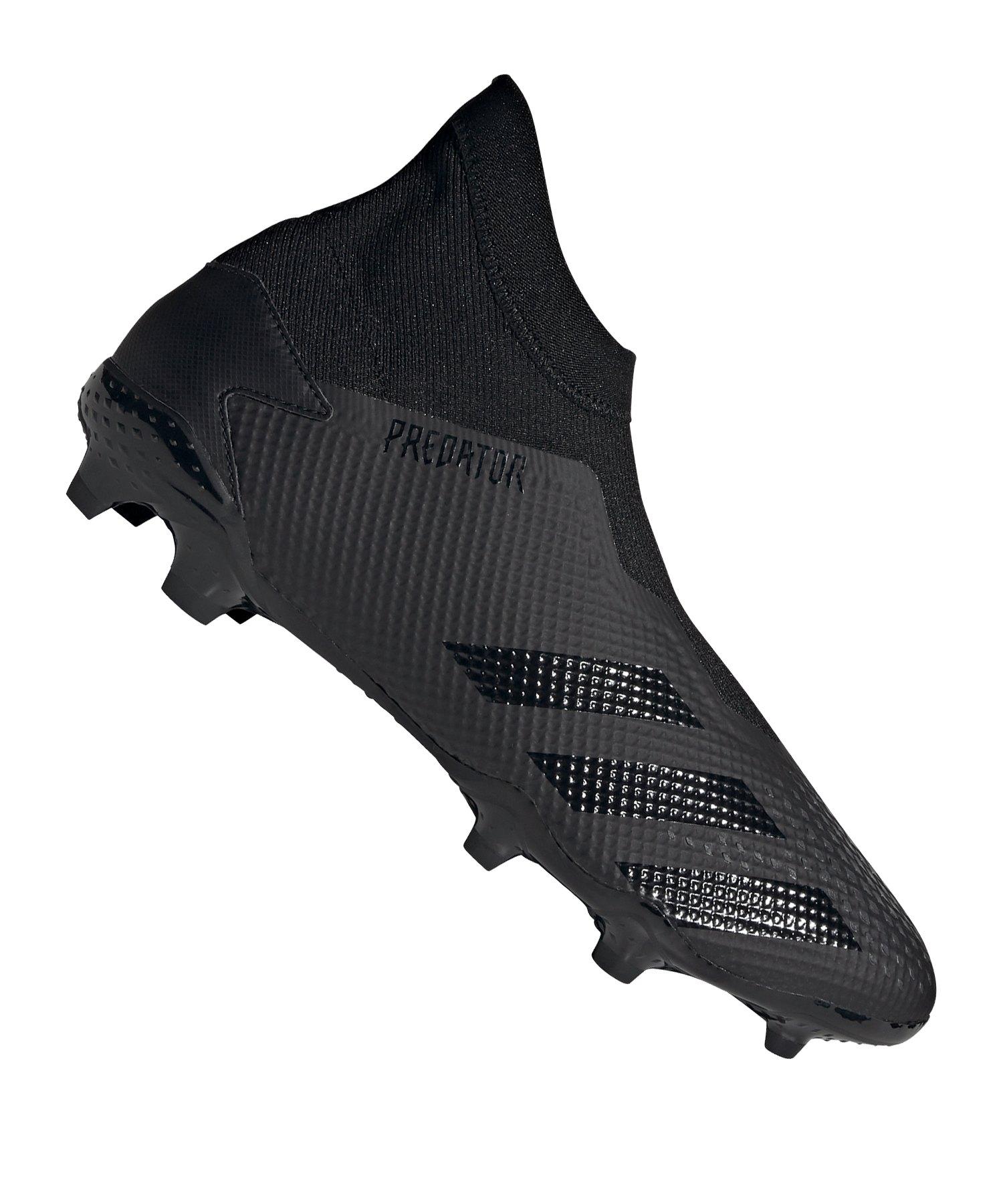 adidas Predator 20.3 LL FG Schwarz Grau - schwarz