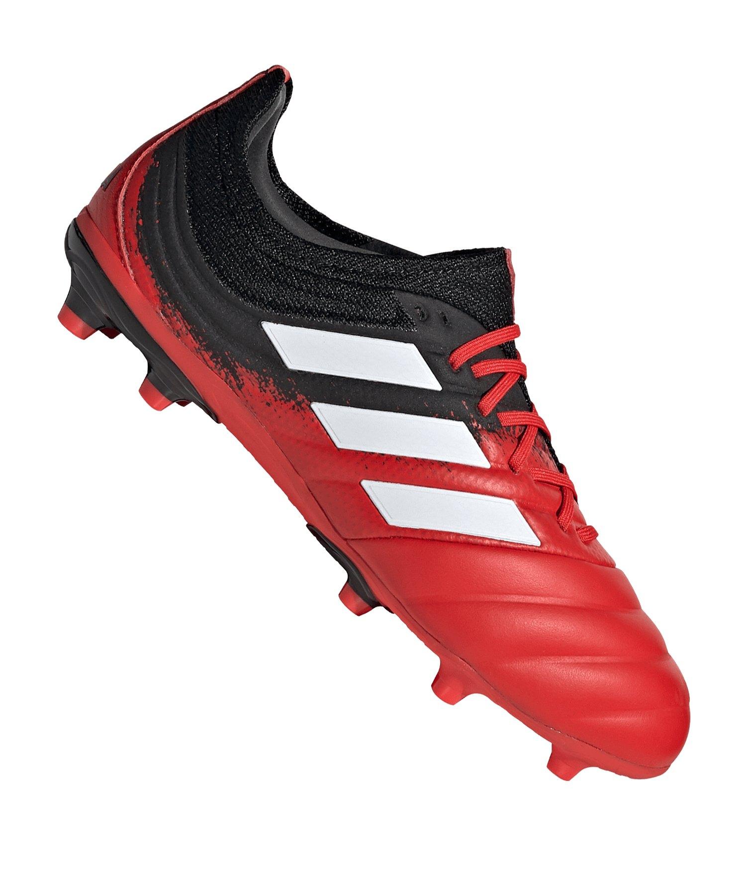 adidas COPA 20.1 FG J Kids Rot Schwarz - rot