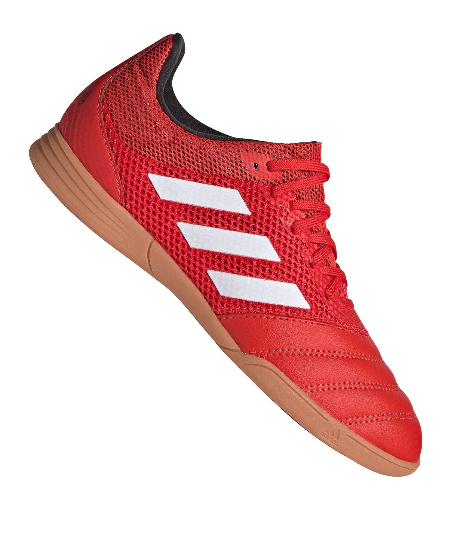 adidas COPA 20.3 IN Sala Halle J Kids Rot Schwarz - rot