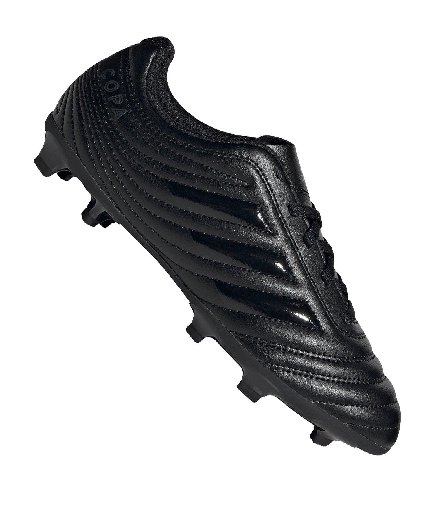 adidas COPA 20.4 FG J Kids Schwarz Grau - schwarz