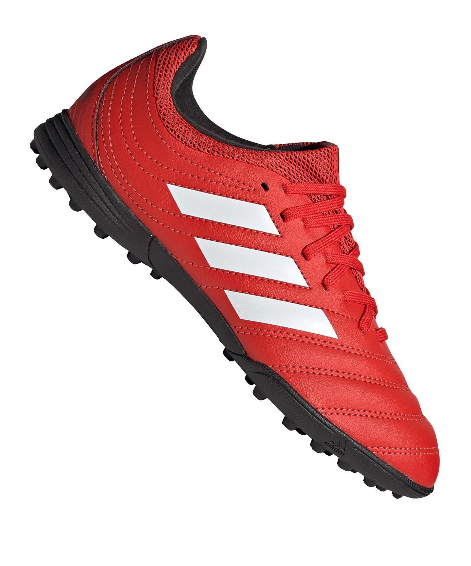 adidas COPA 20.3 TF J Kids Rot Schwarz - rot