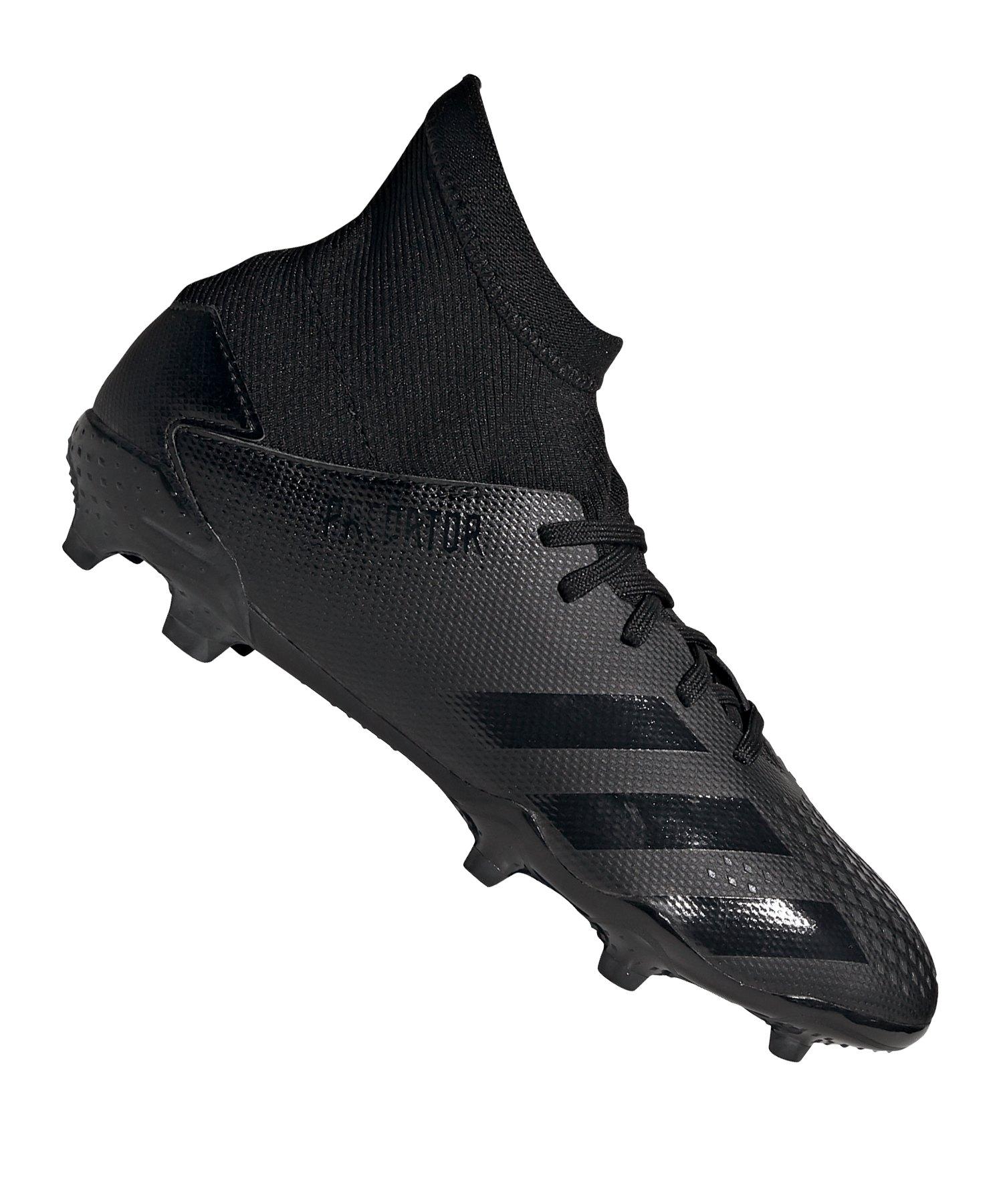 adidas Predator 20.3 FG J Kids Schwarz Grau - schwarz