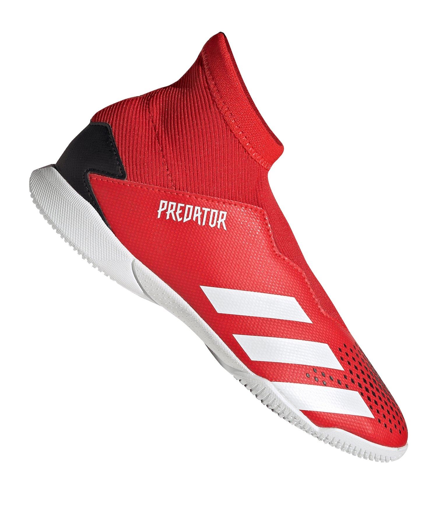 adidas Predator 20.3 LL IN Halle J Kids Rot - rot