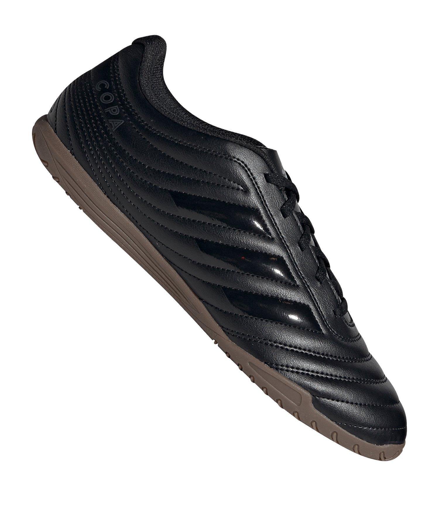 adidas COPA 20.4 IN Halle Schwarz Grau - schwarz