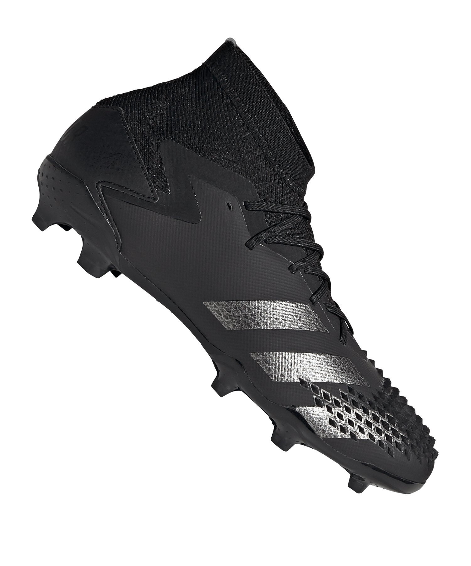 adidas Predator Shadowbeast 20.1 FG J Kids Schwarz Silber - schwarz