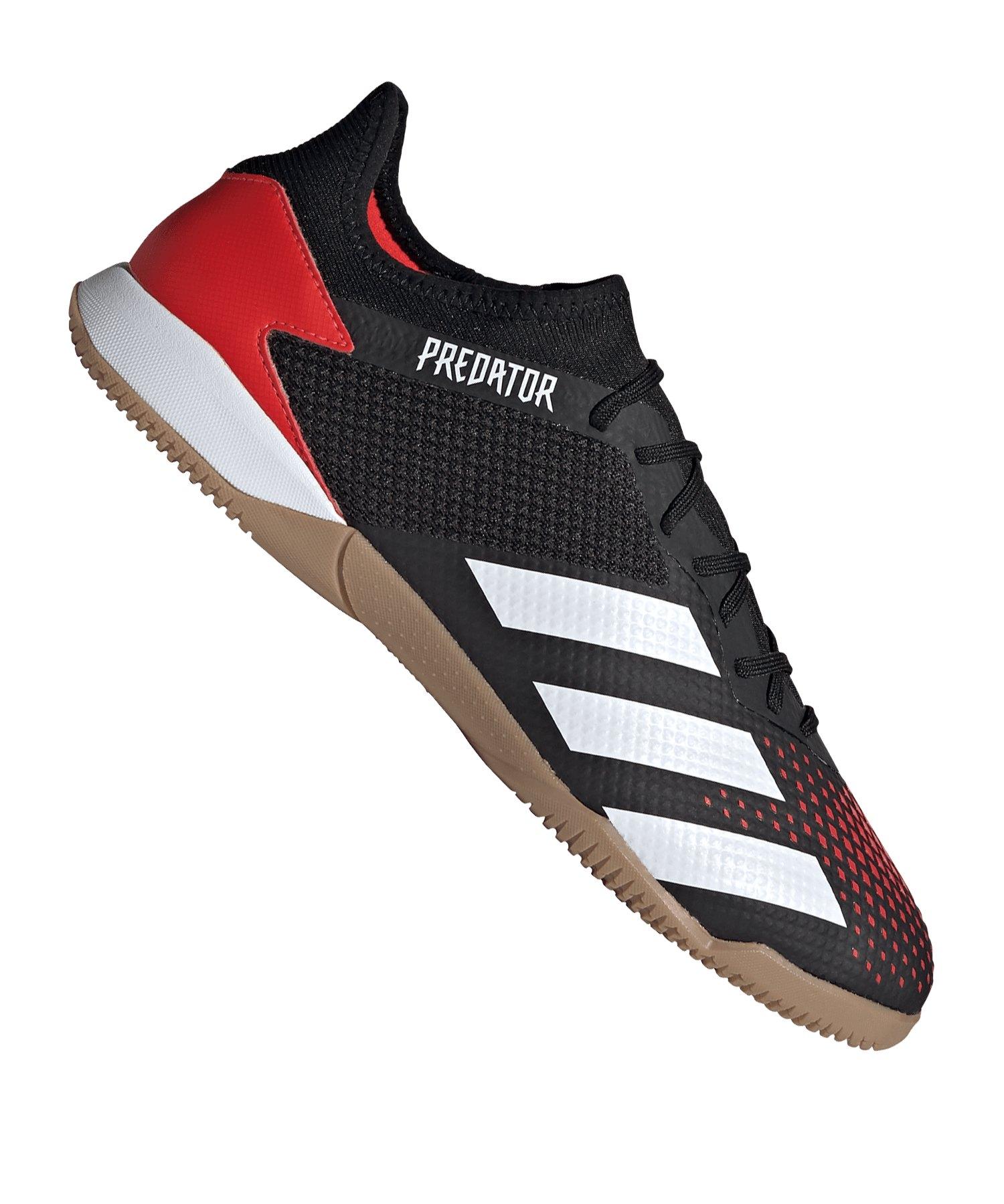 adidas Predator Mutator 20.3 L IN Halle Rot Schwarz - rot