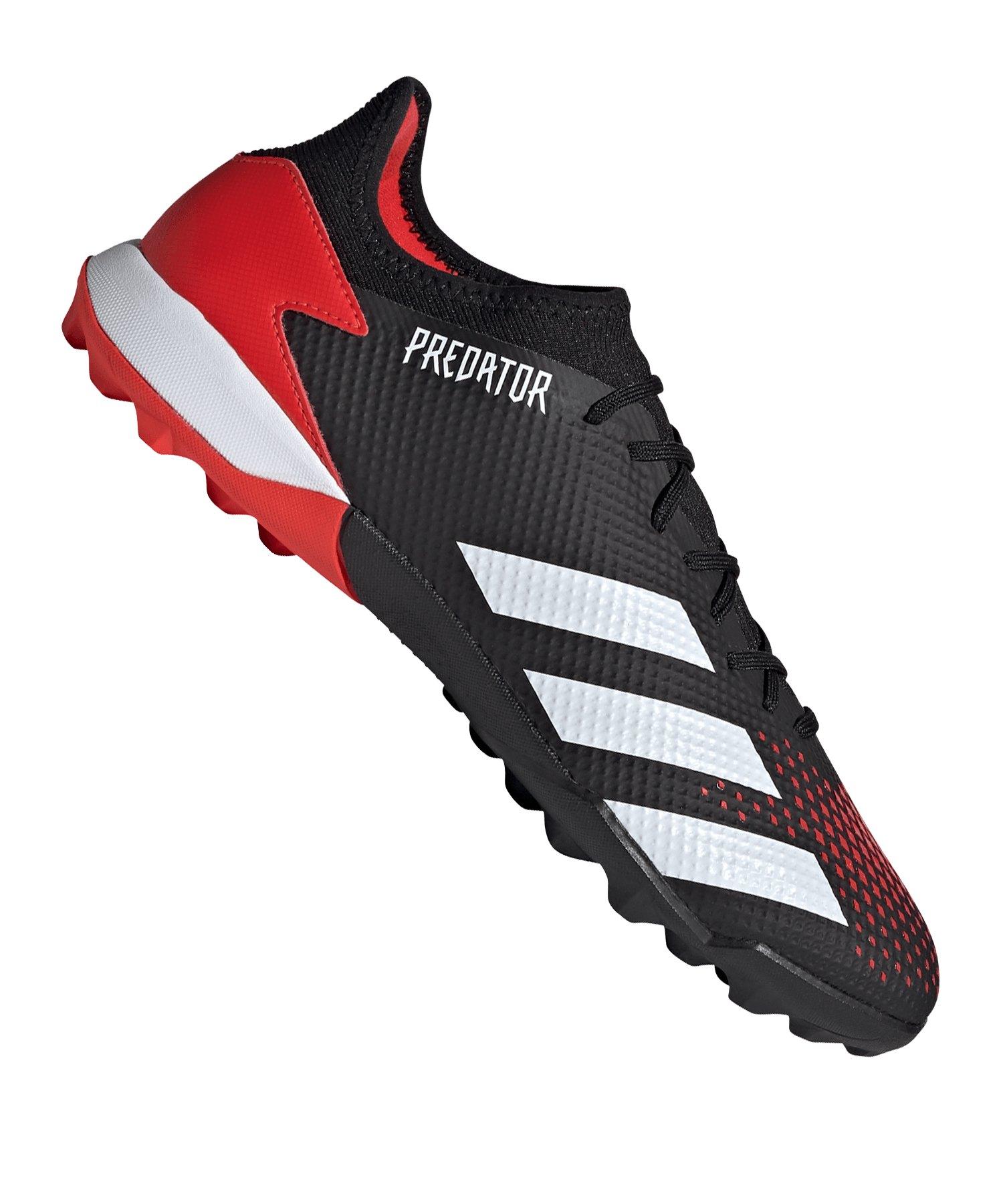 adidas Predator Mutator 20.3 L TF Schwarz Rot - schwarz