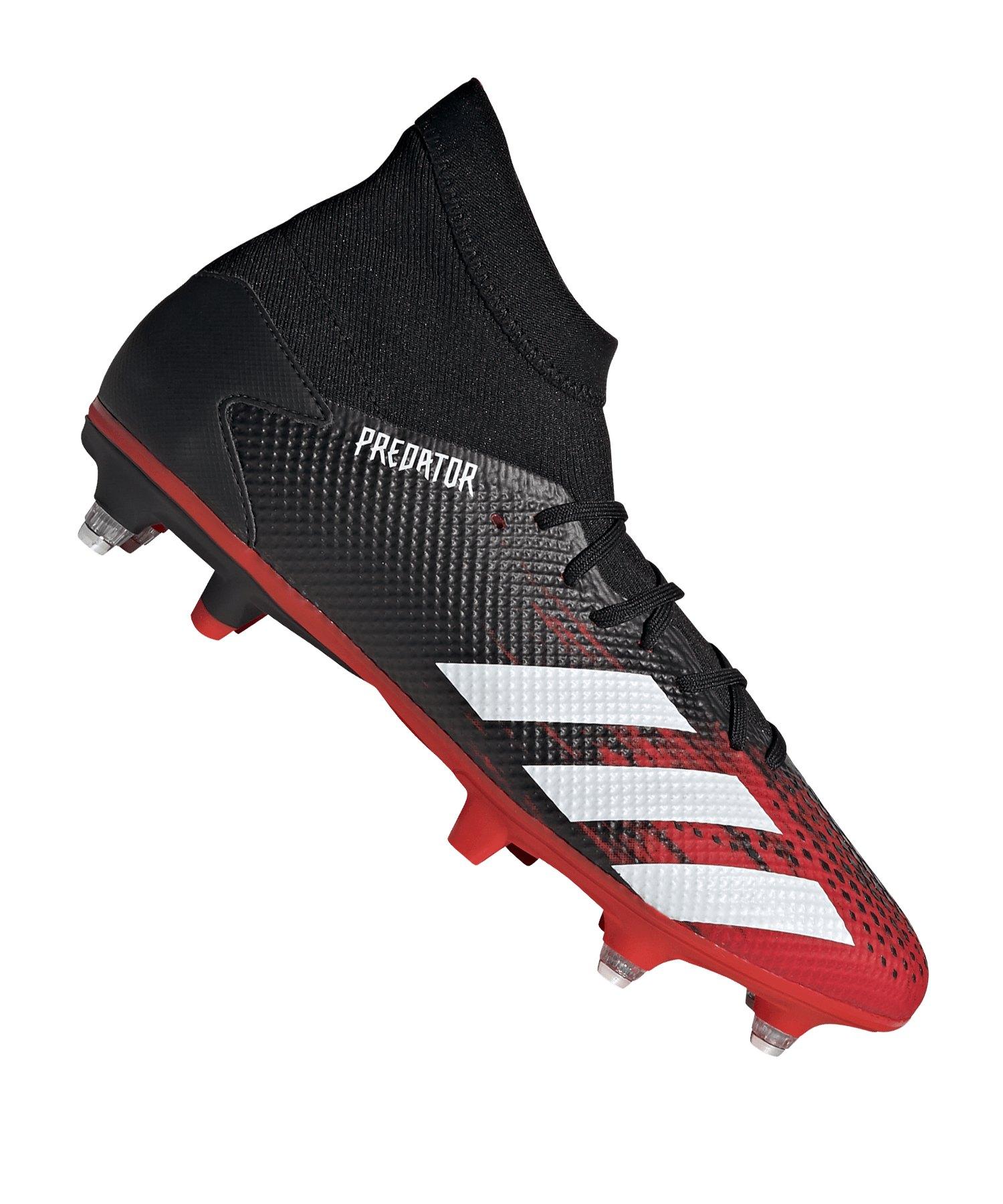 adidas Predator Mutator 20.3 SG Schwarz Rot - schwarz