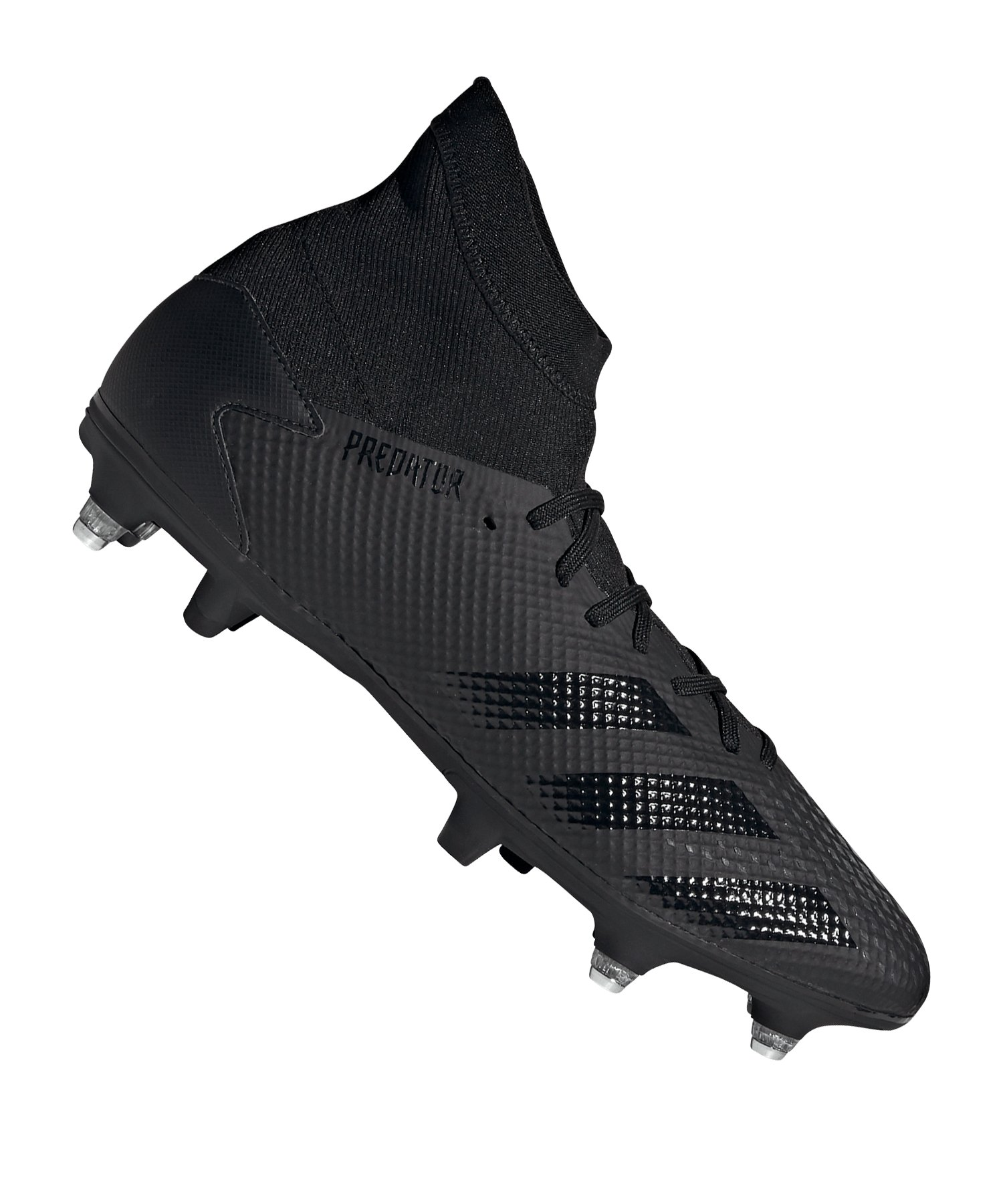 adidas Predator 20.3 SG Schwarz Grau - schwarz