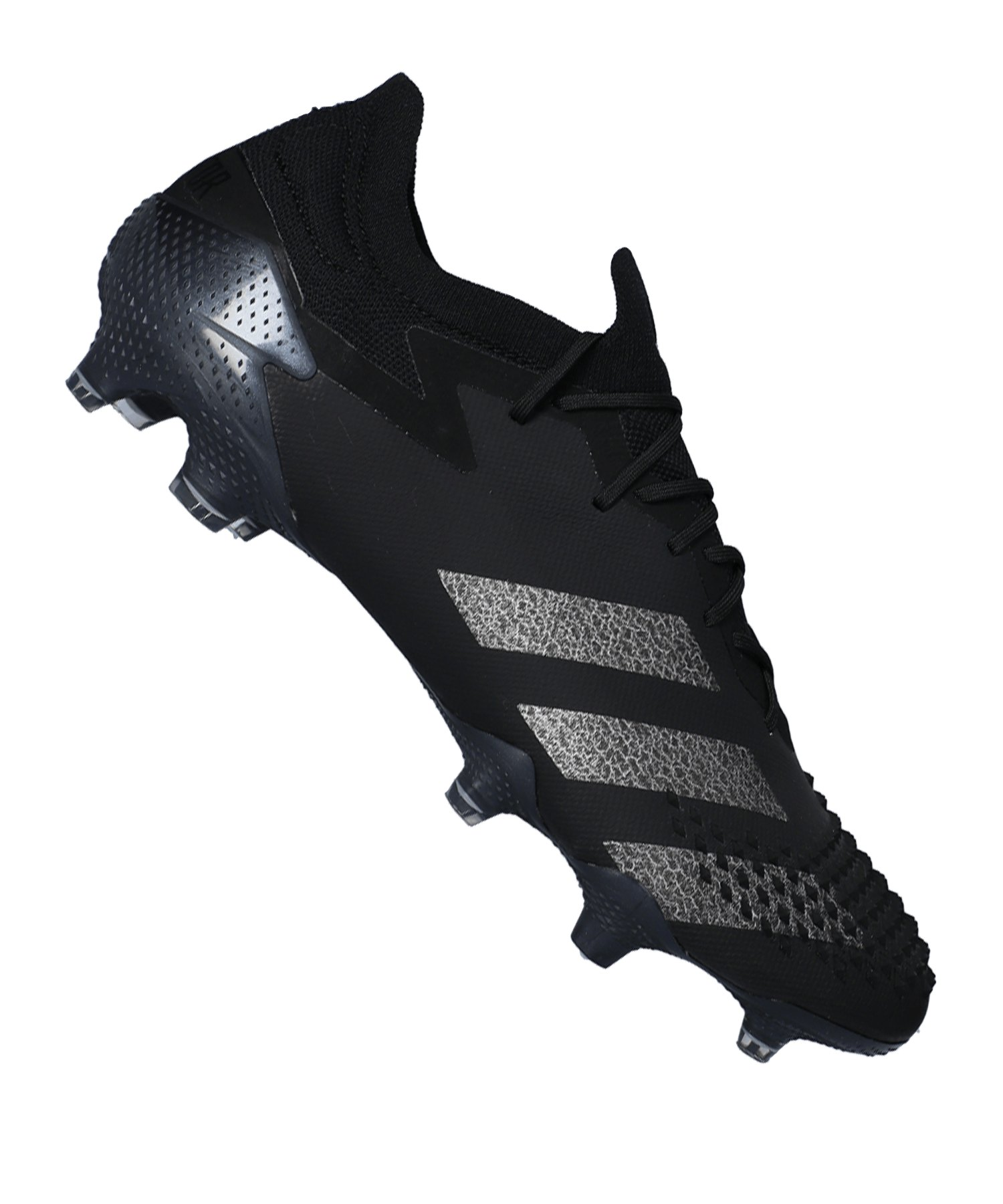adidas Predator 20.1 L FG SchwarzSilber - schwarz