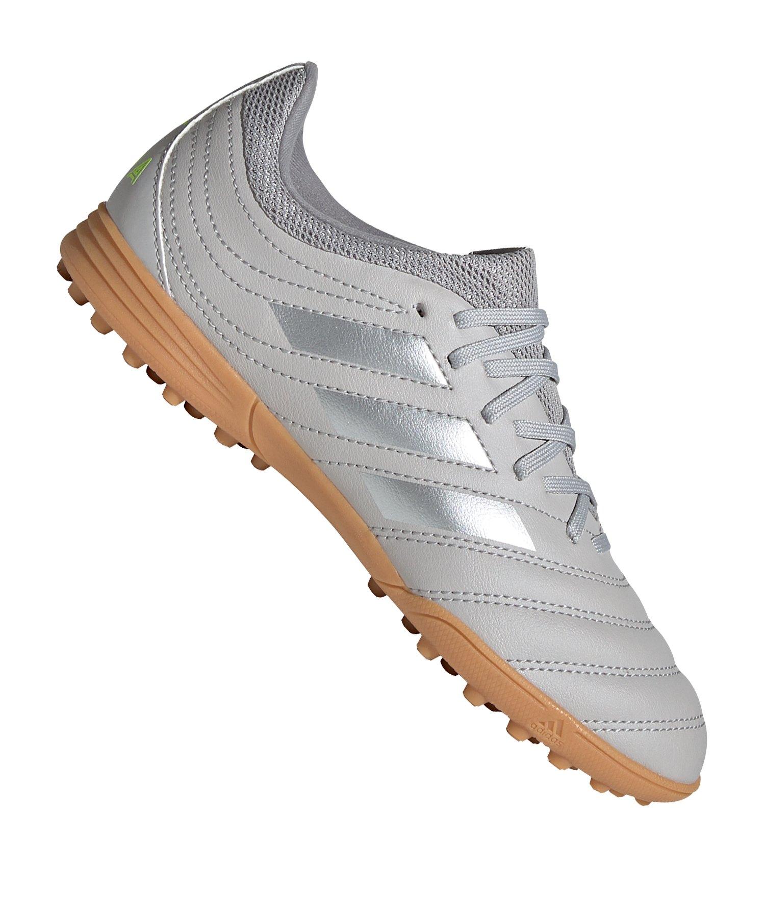 adidas COPA 20.3 TF Kids Grau Silber - grau