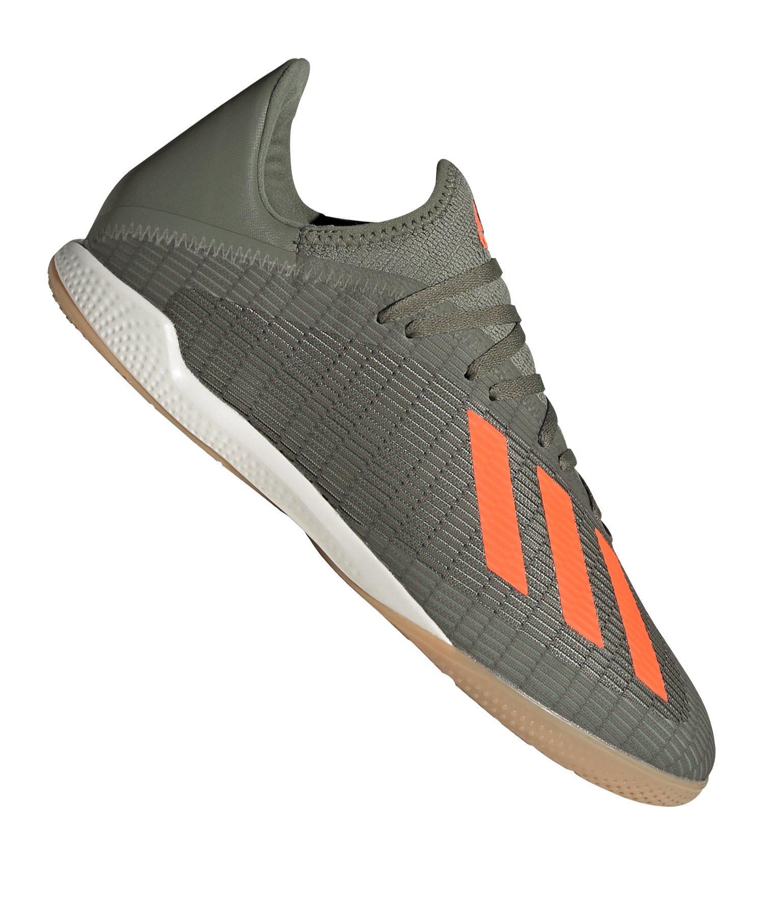 adidas X 19.3 IN Halle Grün Orange - gruen
