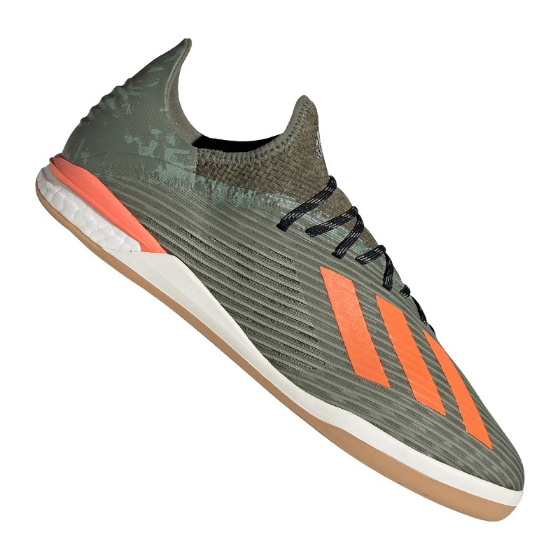 adidas X 19.1 IN Halle Grün Orange - gruen