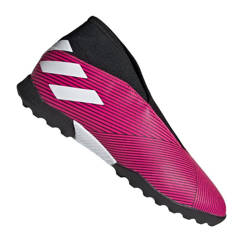 adidas NEMEZIZ 19.3 LL TF Kids Pink - pink