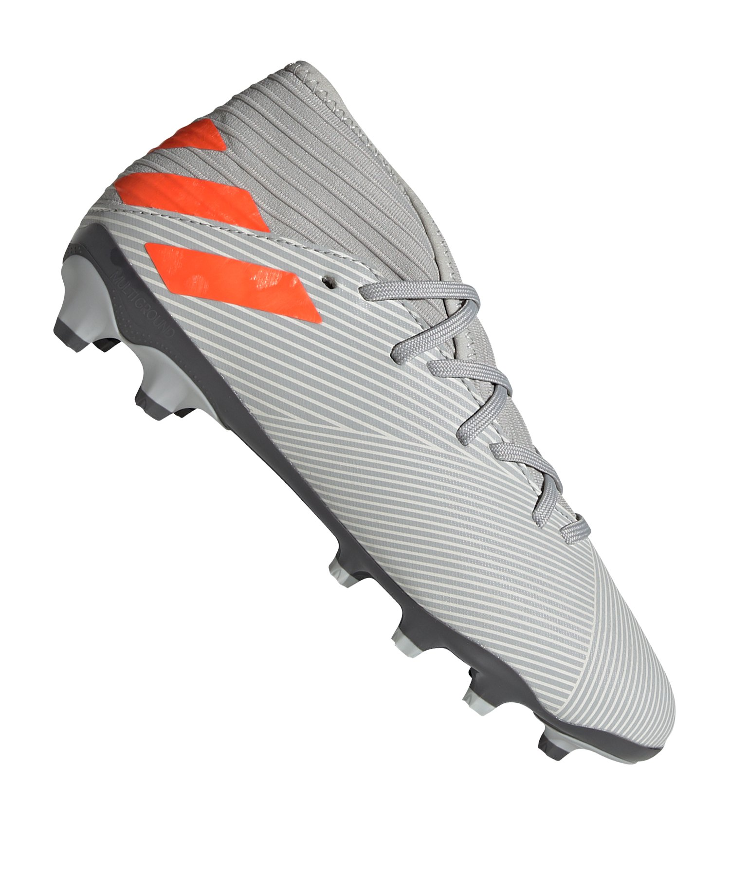 adidas NEMEZIZ 19.3 MG Kids Grau Orange - grau