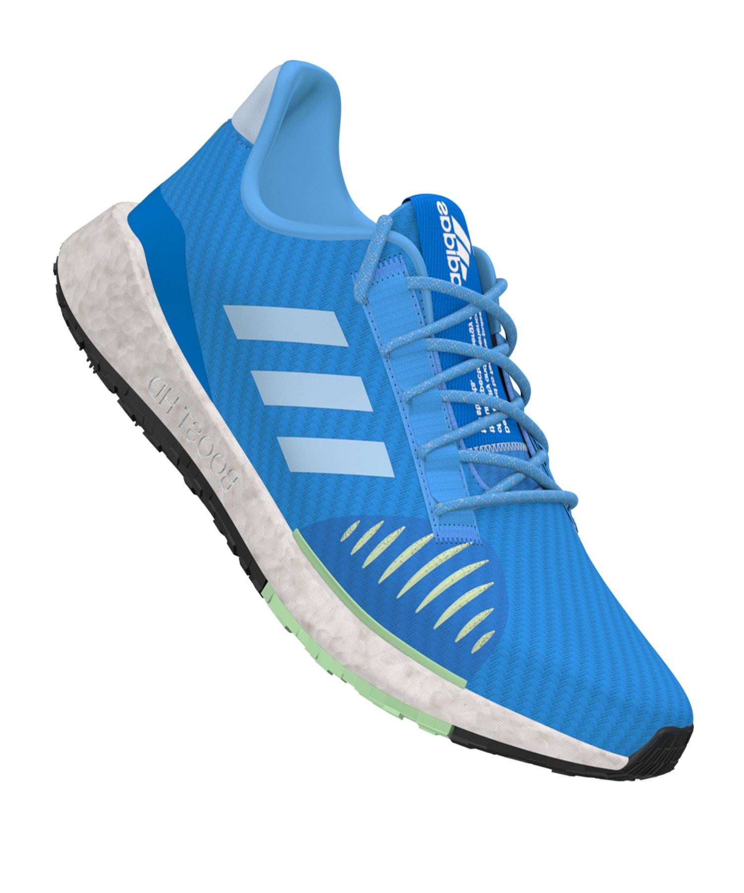 adidas Pulse Boost HD Winter Running Damen Blau - blau