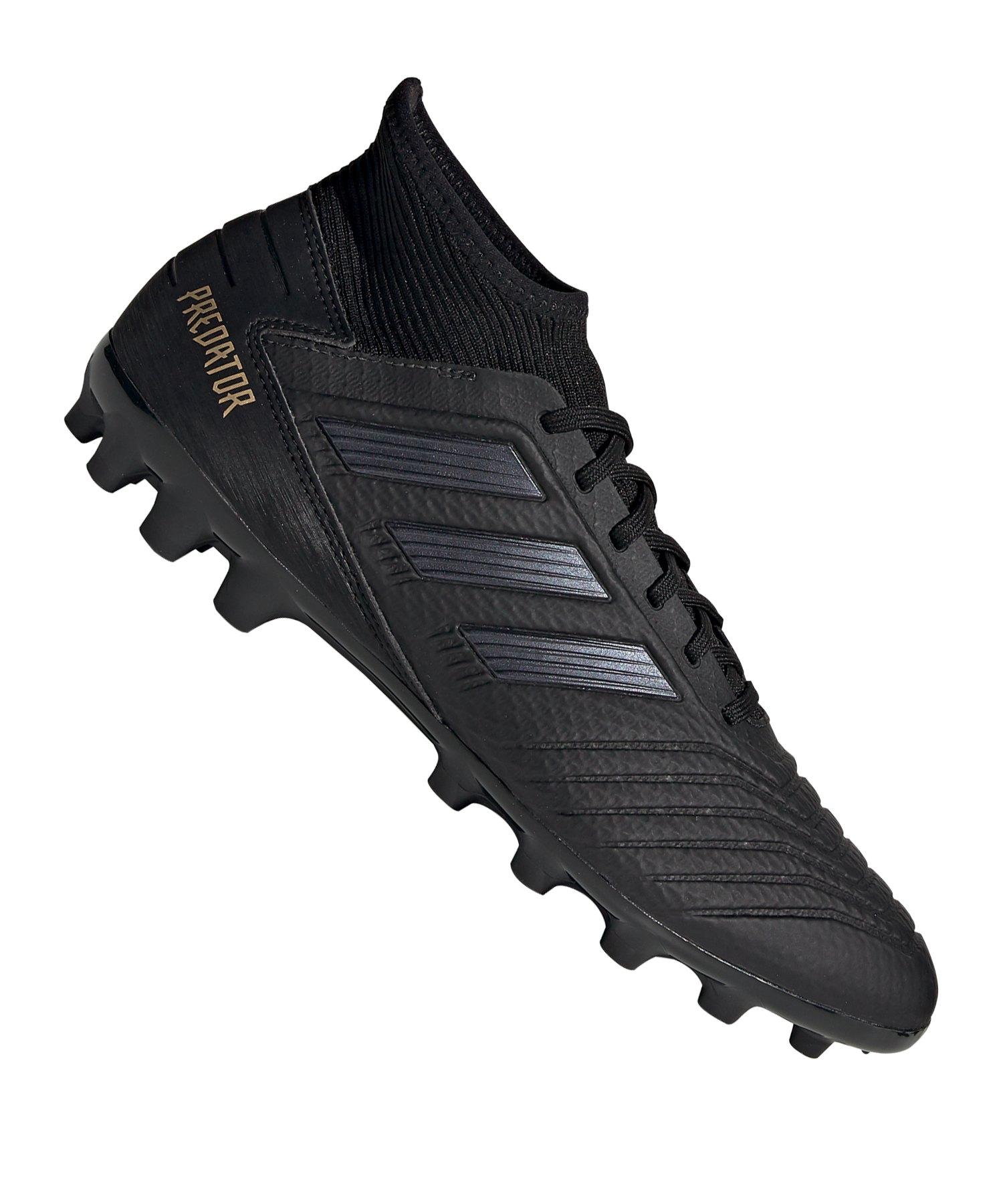 adidas Predator 19.3 AG Schwarz - schwarz