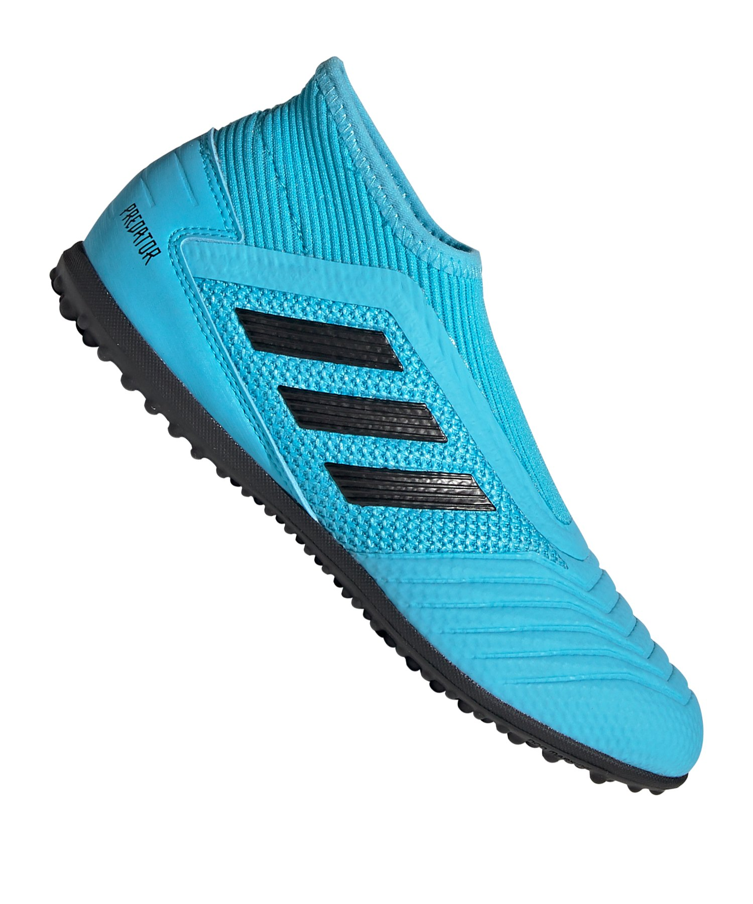 adidas Predator 19.3 LL TF Kids Blau Schwarz - blau