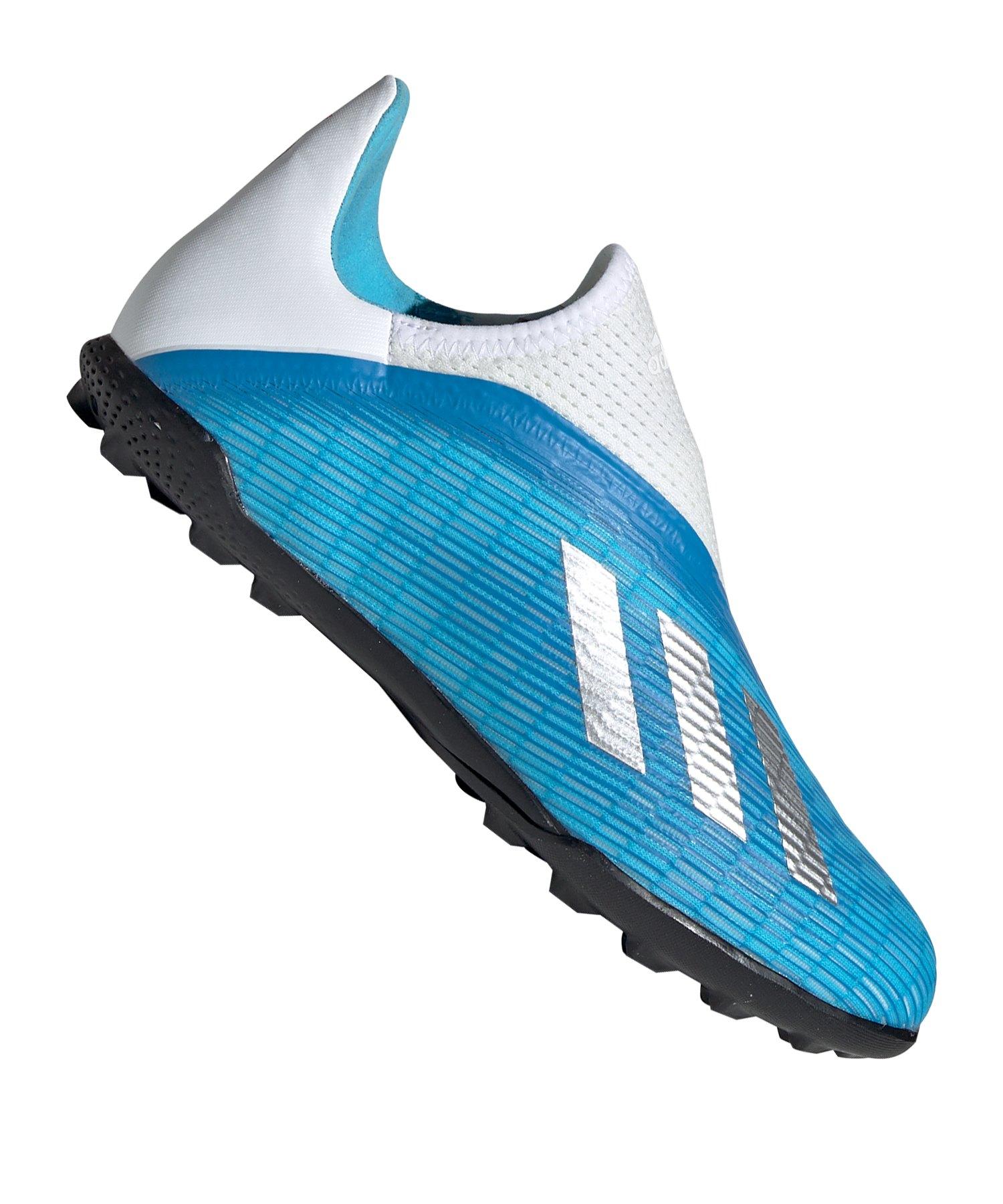 adidas X19.3 LL TF J Kids Blau Weiss Schwarz - blau