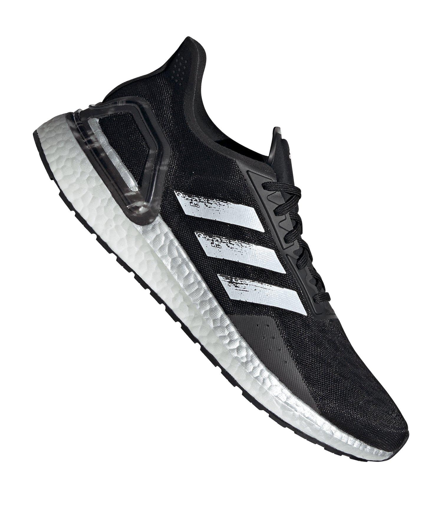 adidas Ultra Boost PB Running Schwarz Weiss - schwarz