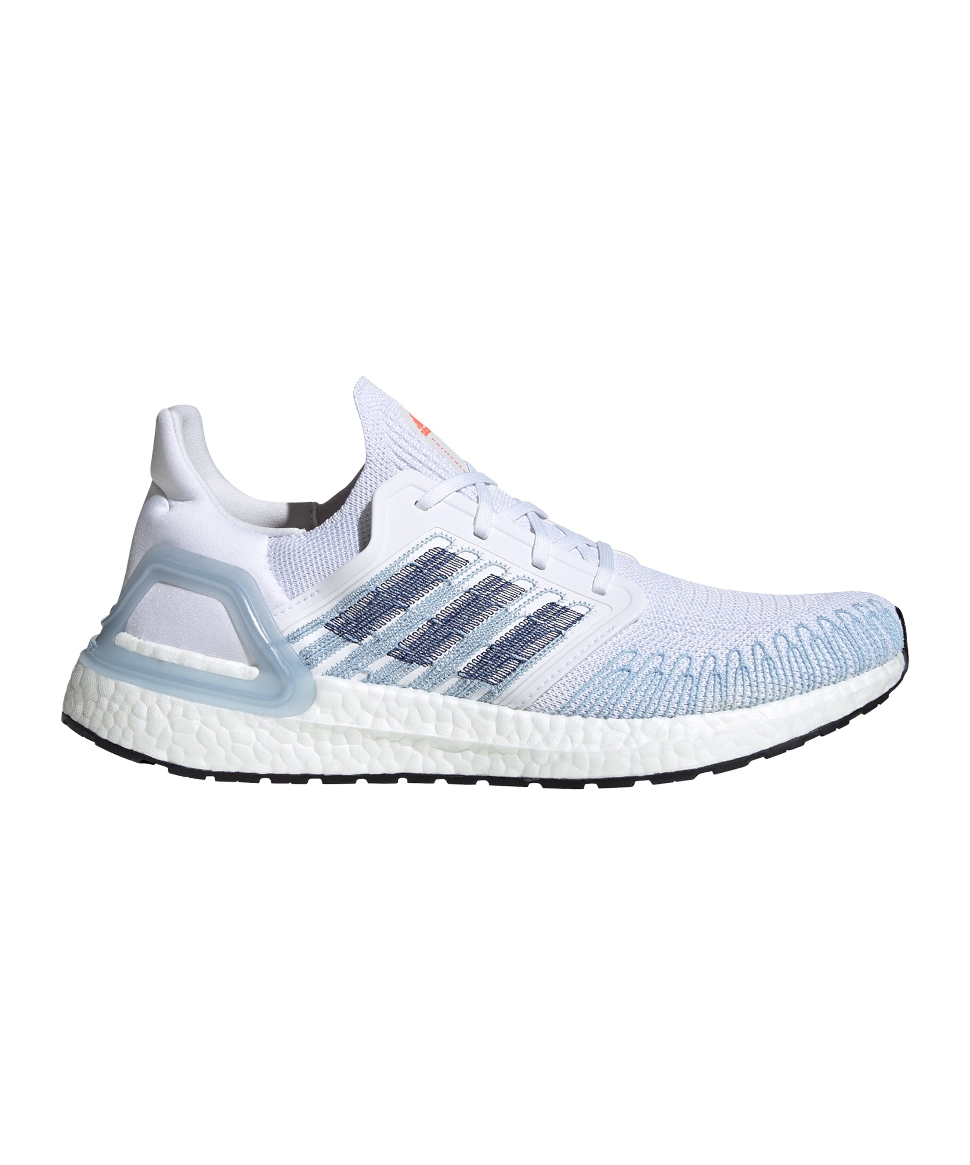 adidas Ultra Boost 20 Running Weiss Blau - weiss