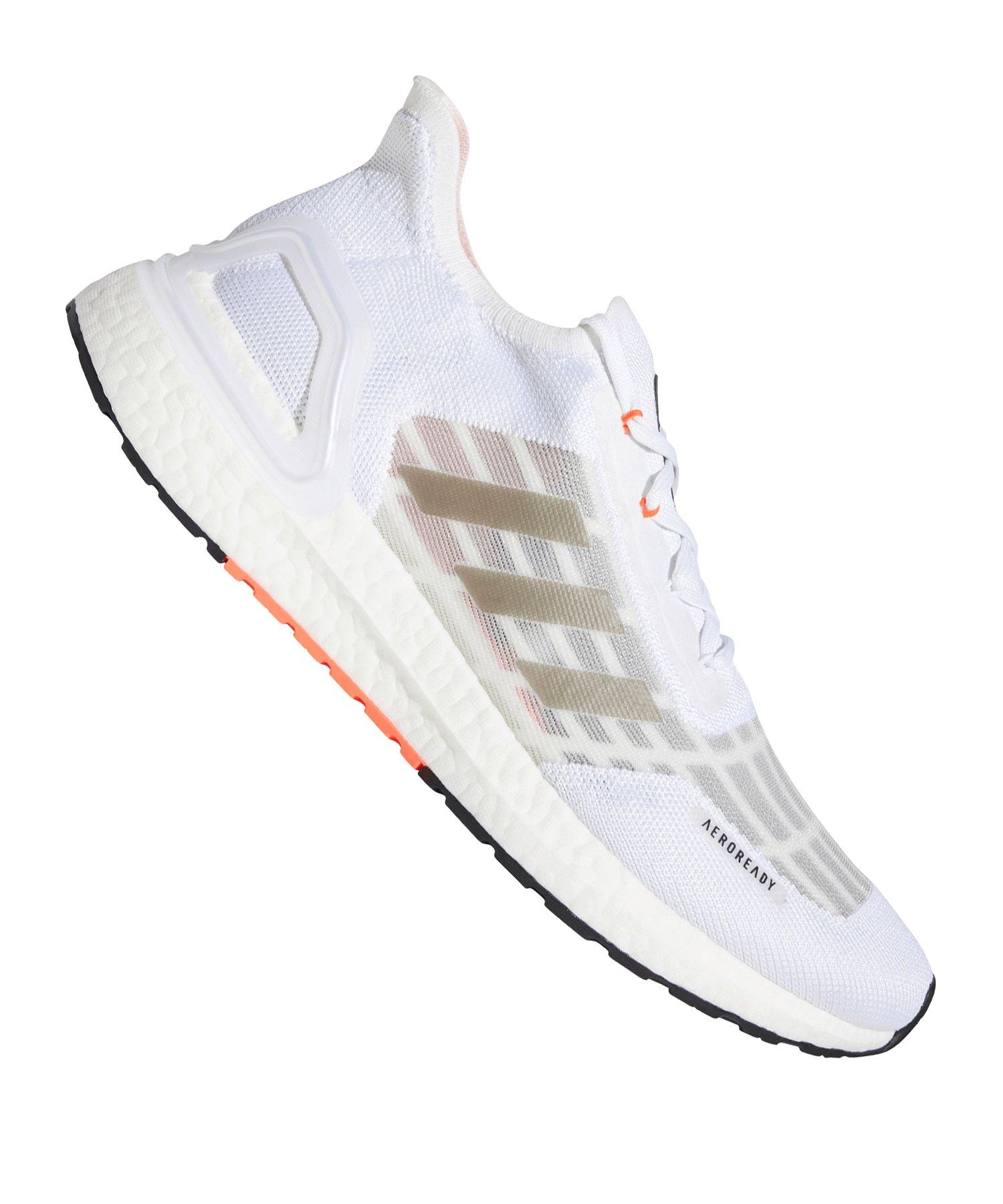adidas Ultra Boost 20 S.RDY Running Weiss Rot - weiss