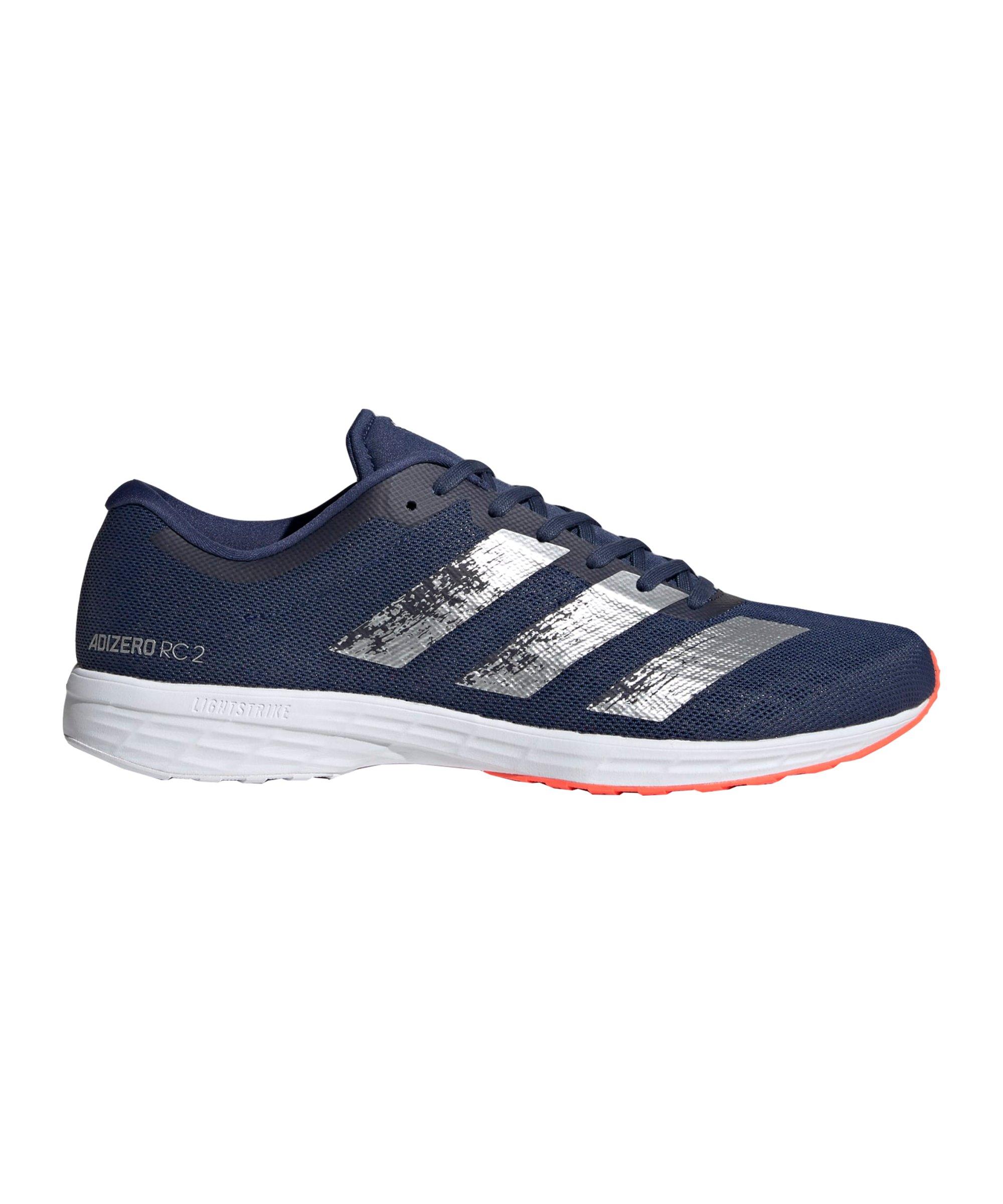 adidas Adizero RC 2 m Running Blau Rot - blau