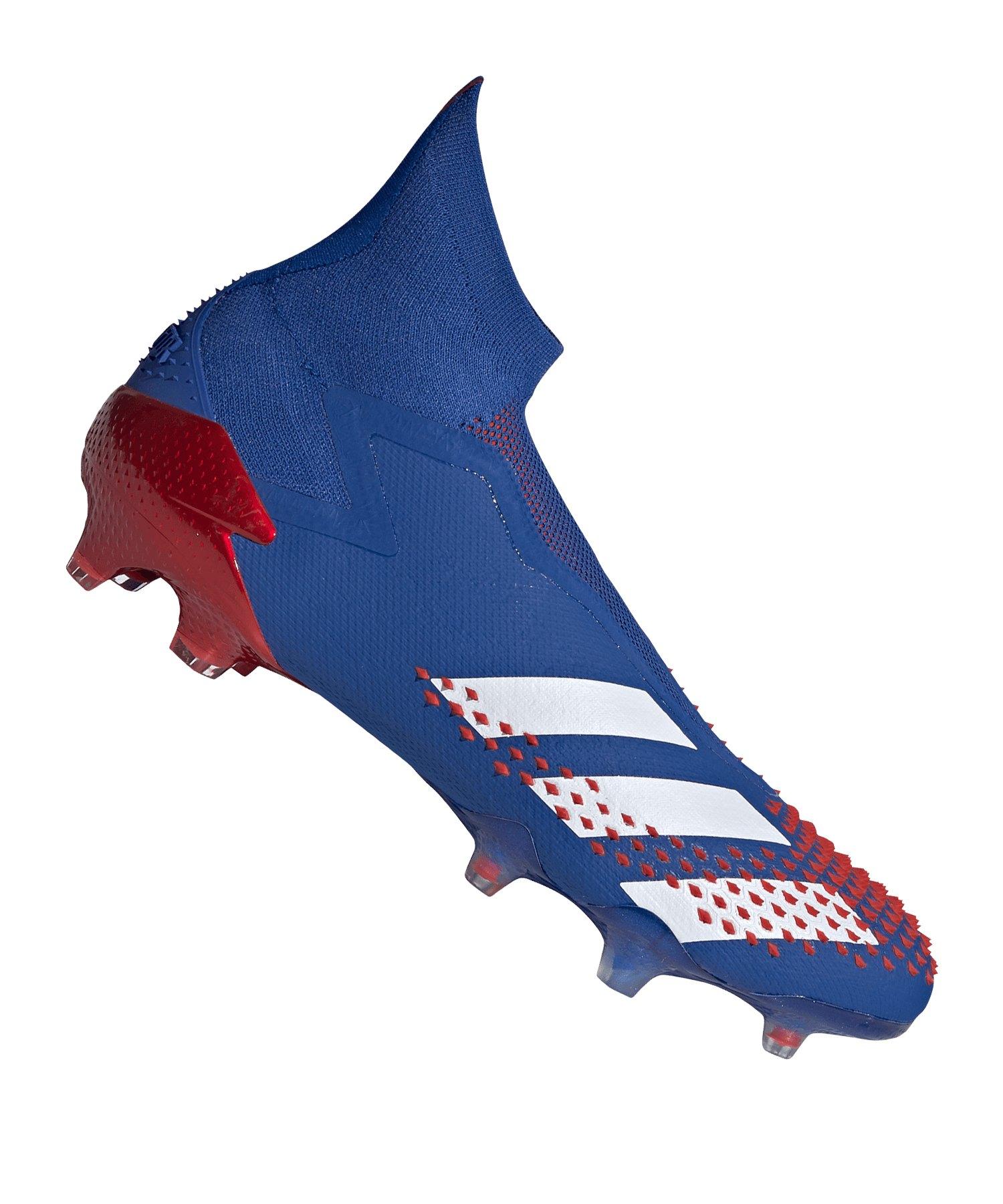adidas Predator 20+ FG BlauRot - blau