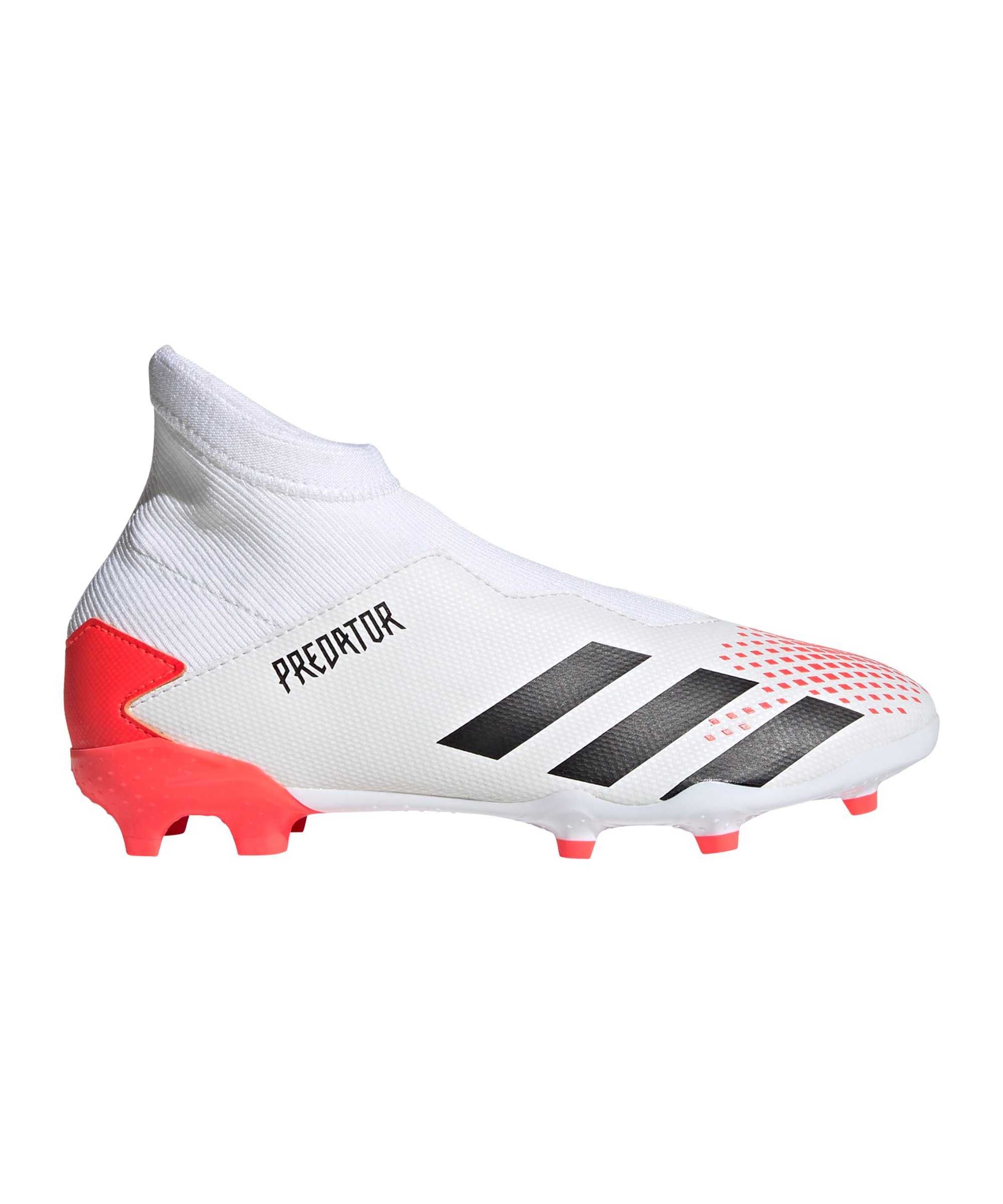 adidas Predator Uniforia 20.3 LL FG J Kids Weiss Rot - weiss