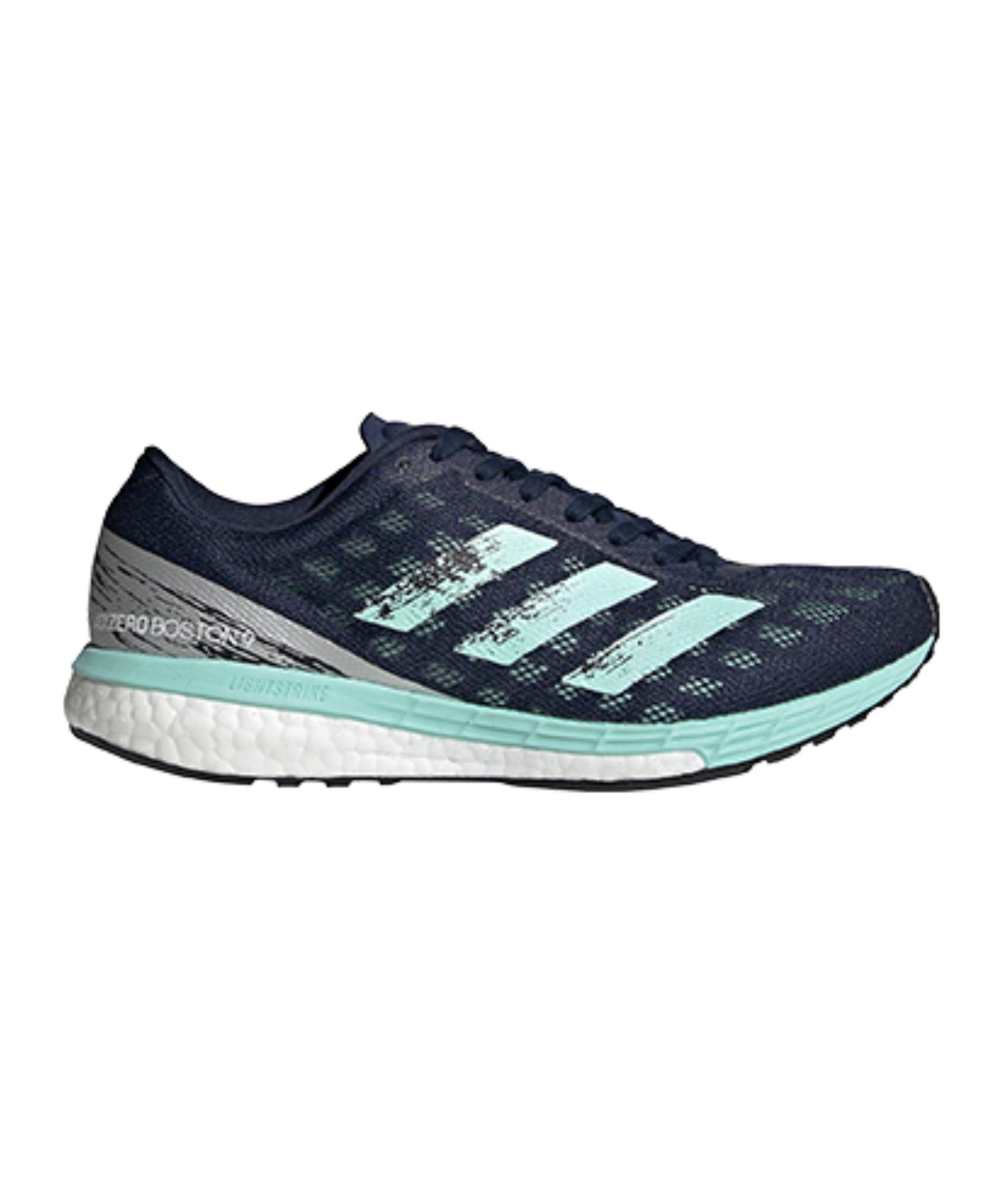 adidas Adizero Boston 9 Running Damen Blau - blau