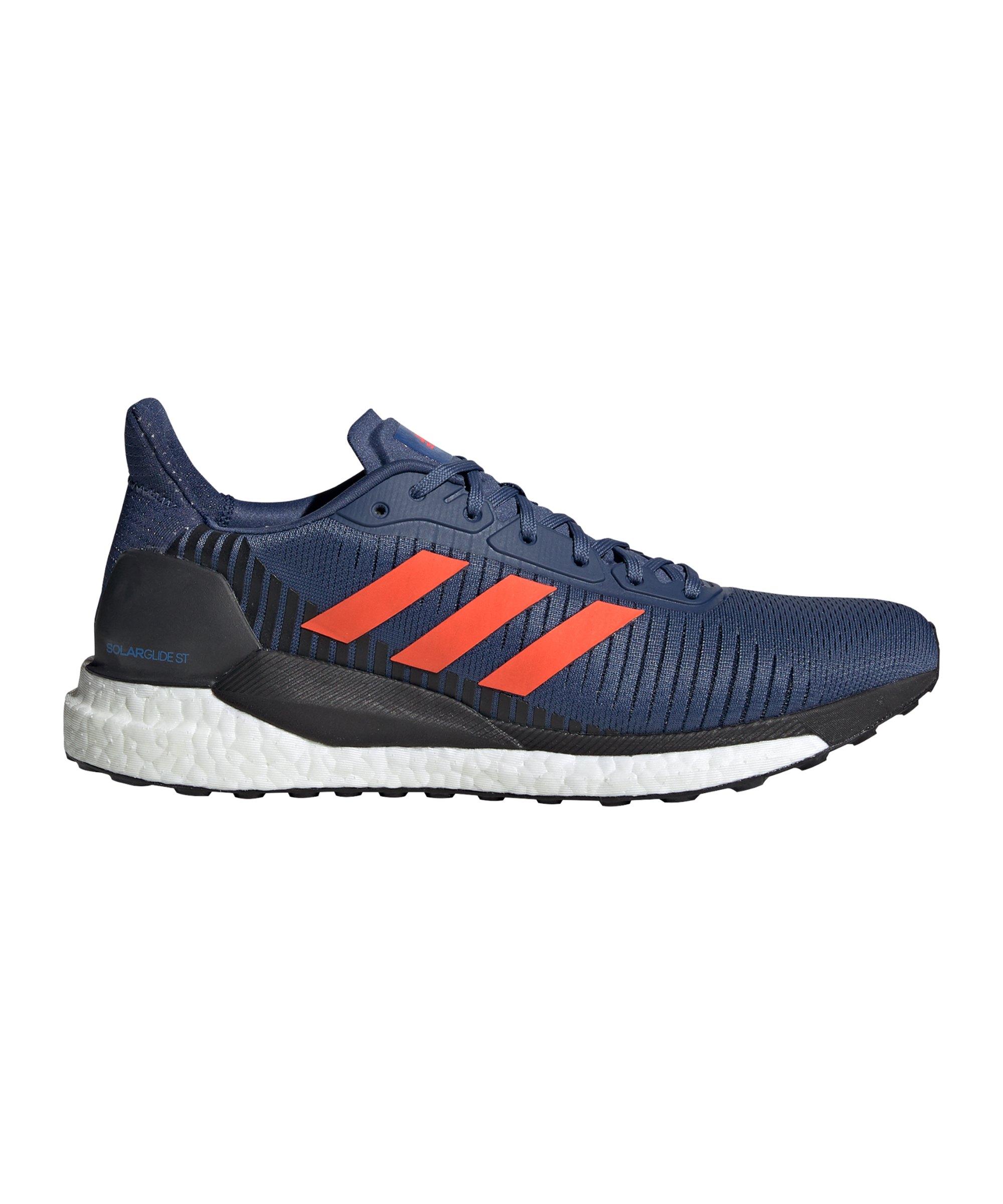 adidas Solar Glide ST 19 Running Blau Rot - blau