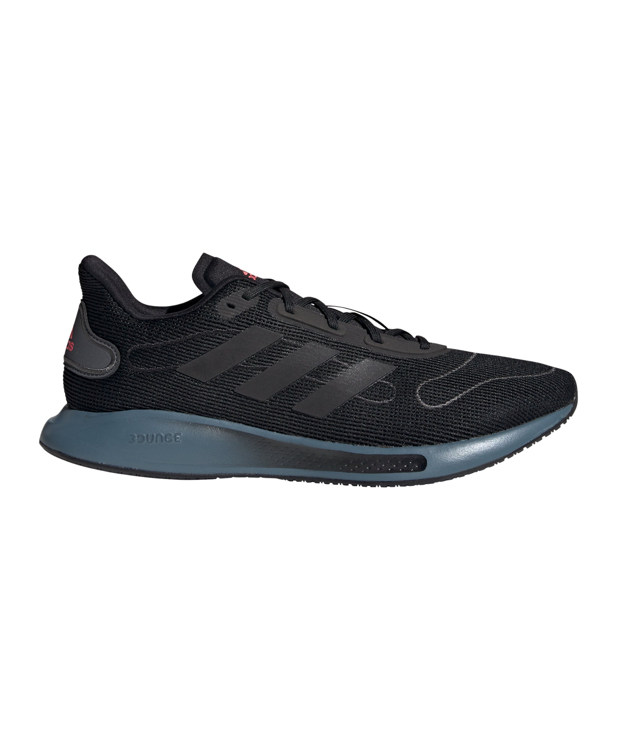 adidas Galaxar Run Running Schwarz Blau - schwarz