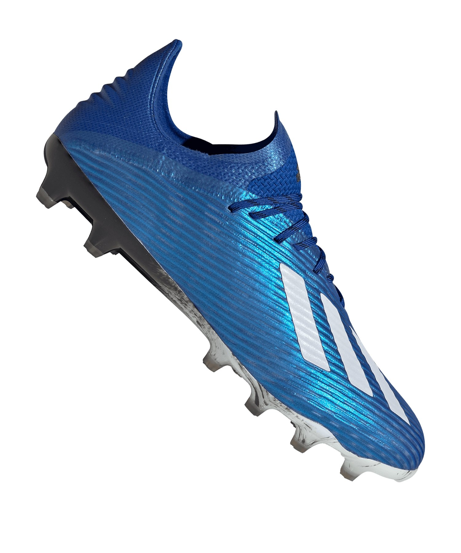 adidas X 19.1 AG Blau Weiss Schwarz - blau