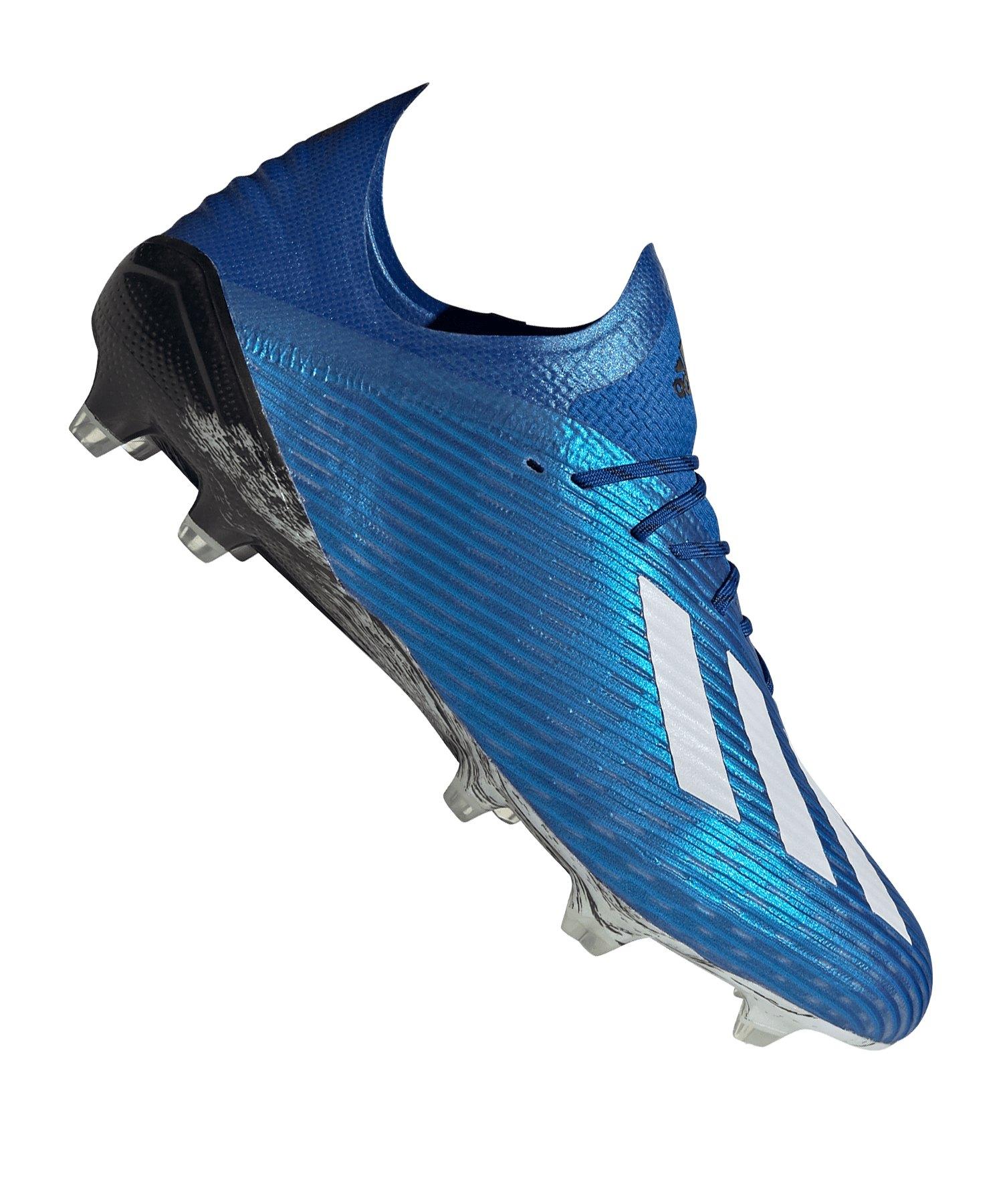 adidas X 19.1 FG Blau Schwarz - blau