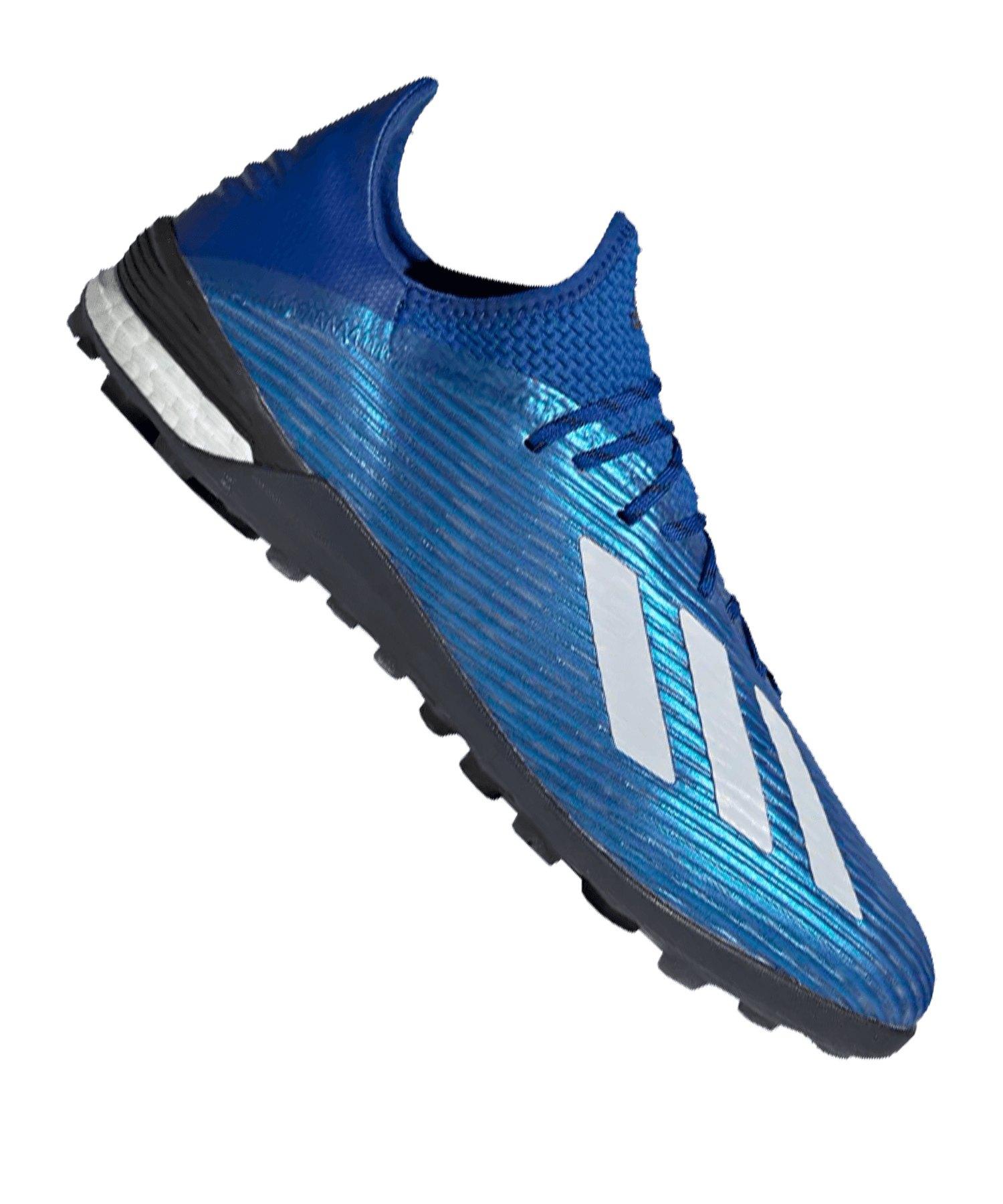 adidas X 19.1 TF Blau Weiss - blau