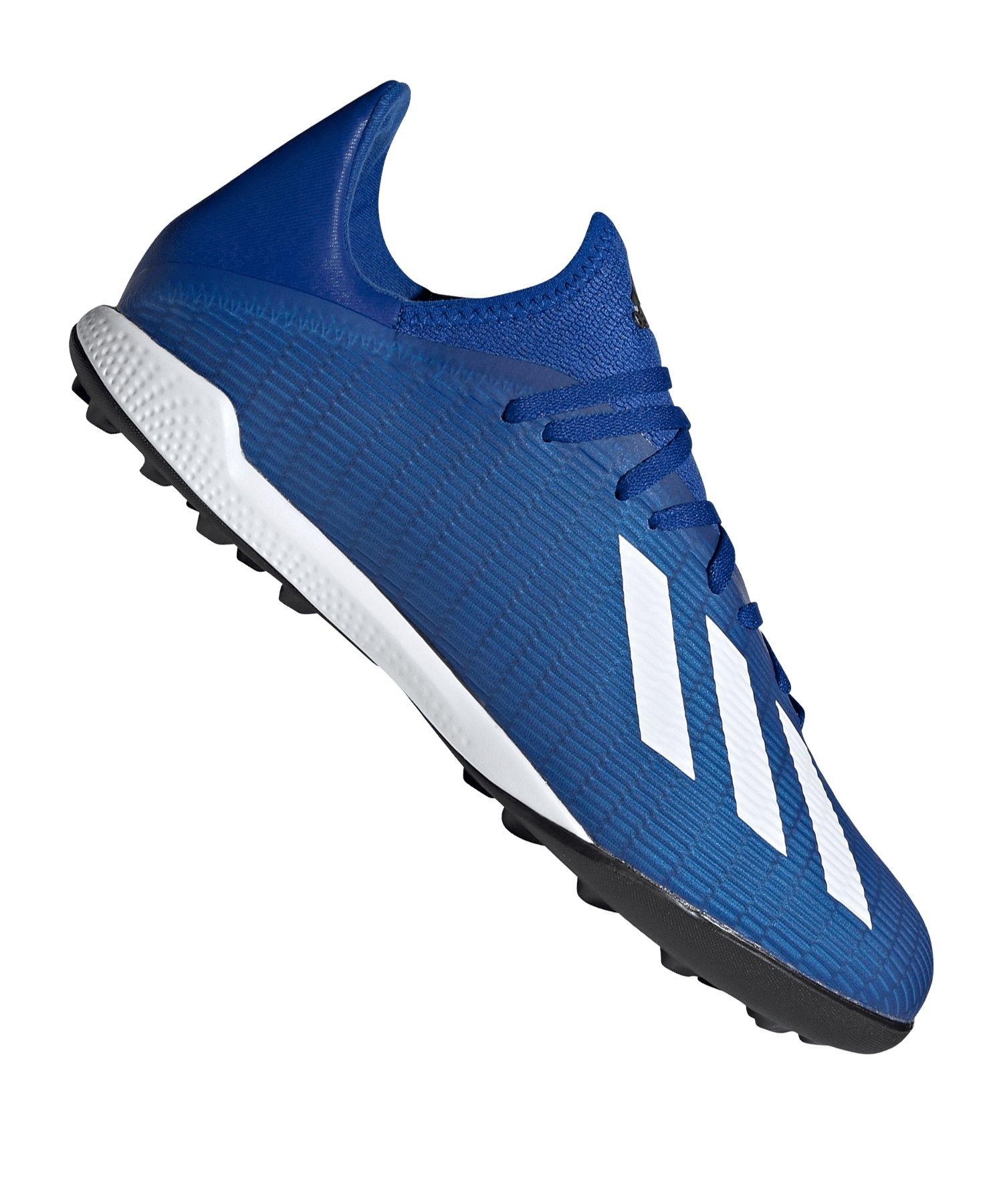 adidas X 19.3 TF Blau Weiss Schwarz - blau