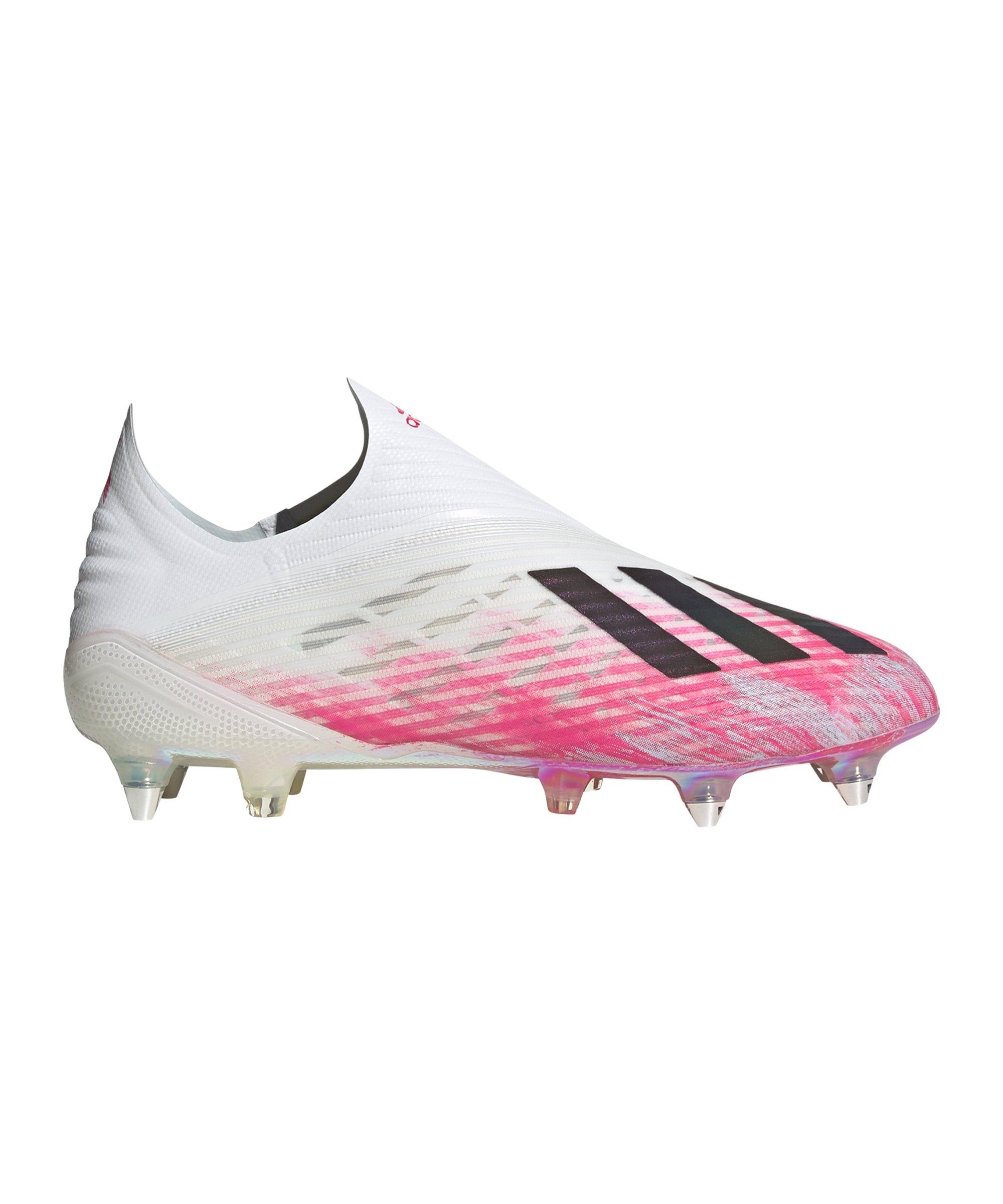 adidas X Uniforia 19+ SG Weiss Pink - weiss