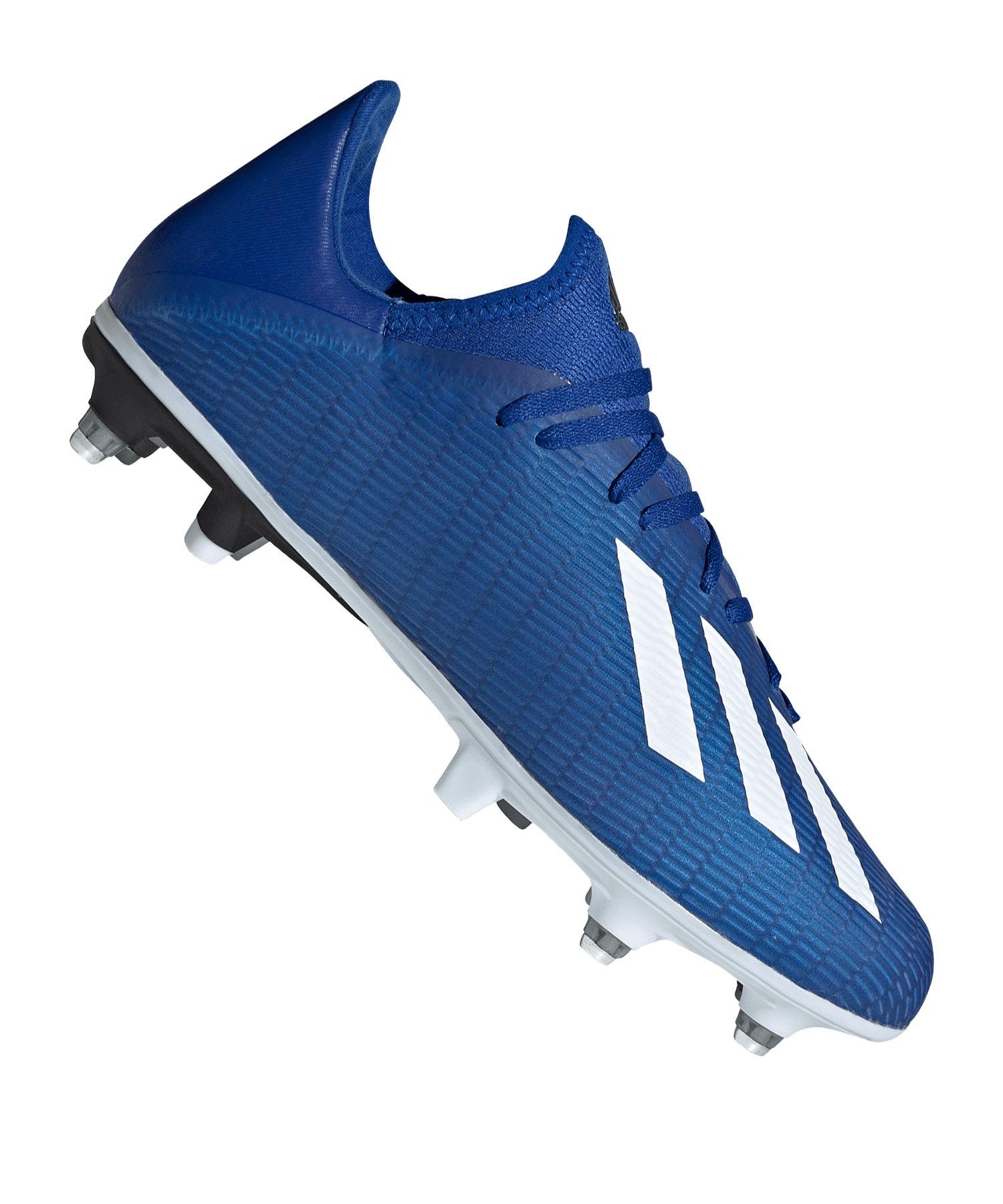 adidas X 19.3 SG Blau Schwarz - blau