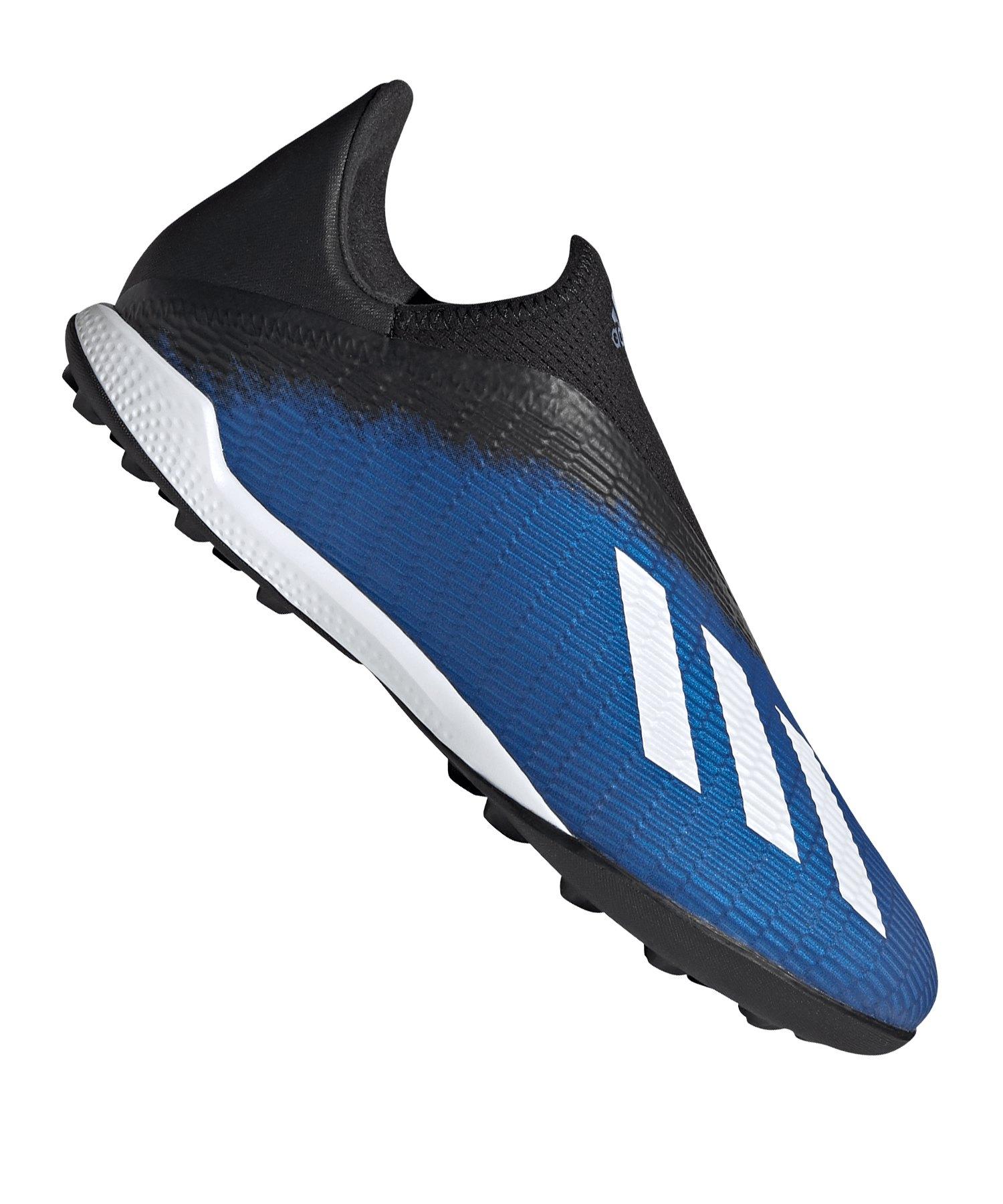 adidas X 19.3 LL TF Blau Weiss Schwarz - blau